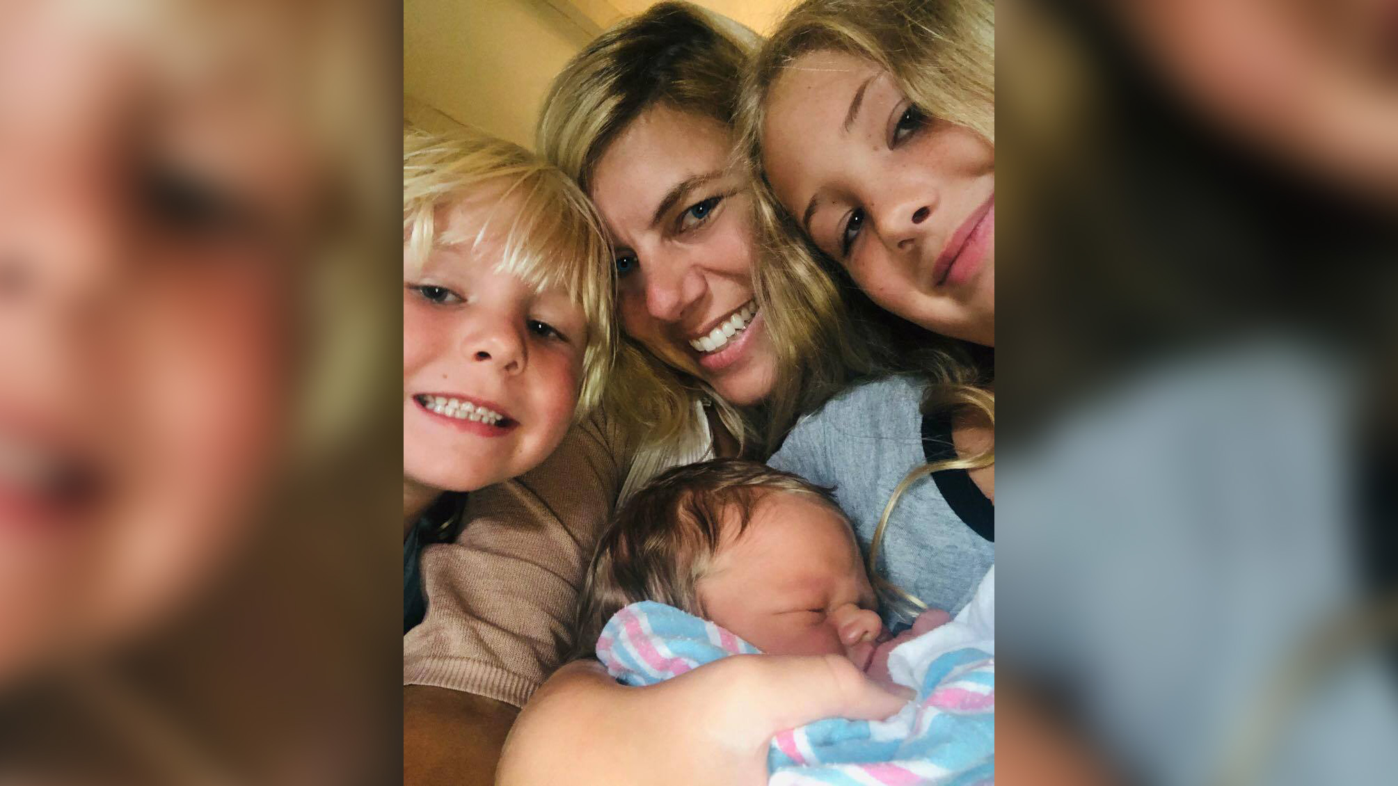North Carolina TV anchor shares 'surreal' experience of raising newborn while entire family battles Covid-19