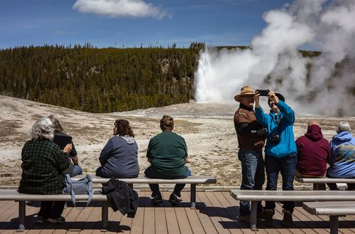 Image for National park visitors surge as Covid-19 pandemic restrictions wane