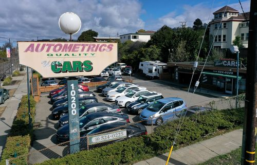 Image for Used Car Sales are Soaring