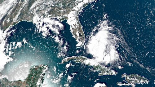 Image for The next named storm of this record-breaking hurricane season is developing near southern Florida