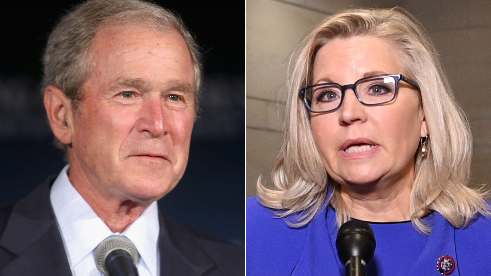 Former President George W. Bush to hold fundraiser next month for Liz Cheney