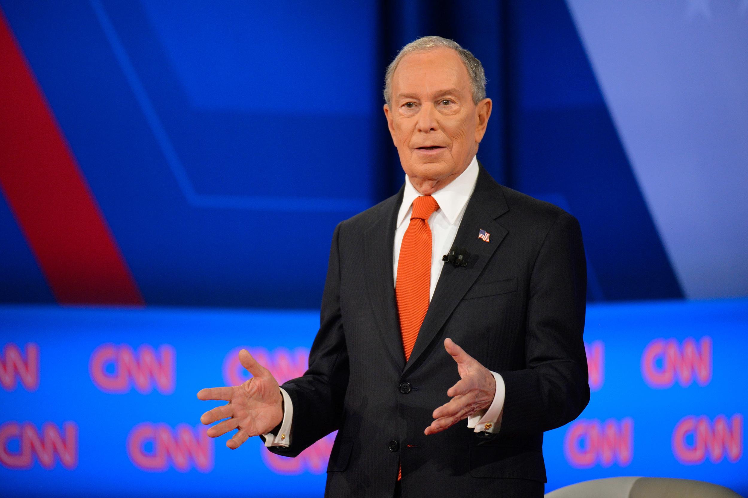 Ad spending barrels past $1 billion mark as Mike Bloomberg overwhelms airwaves