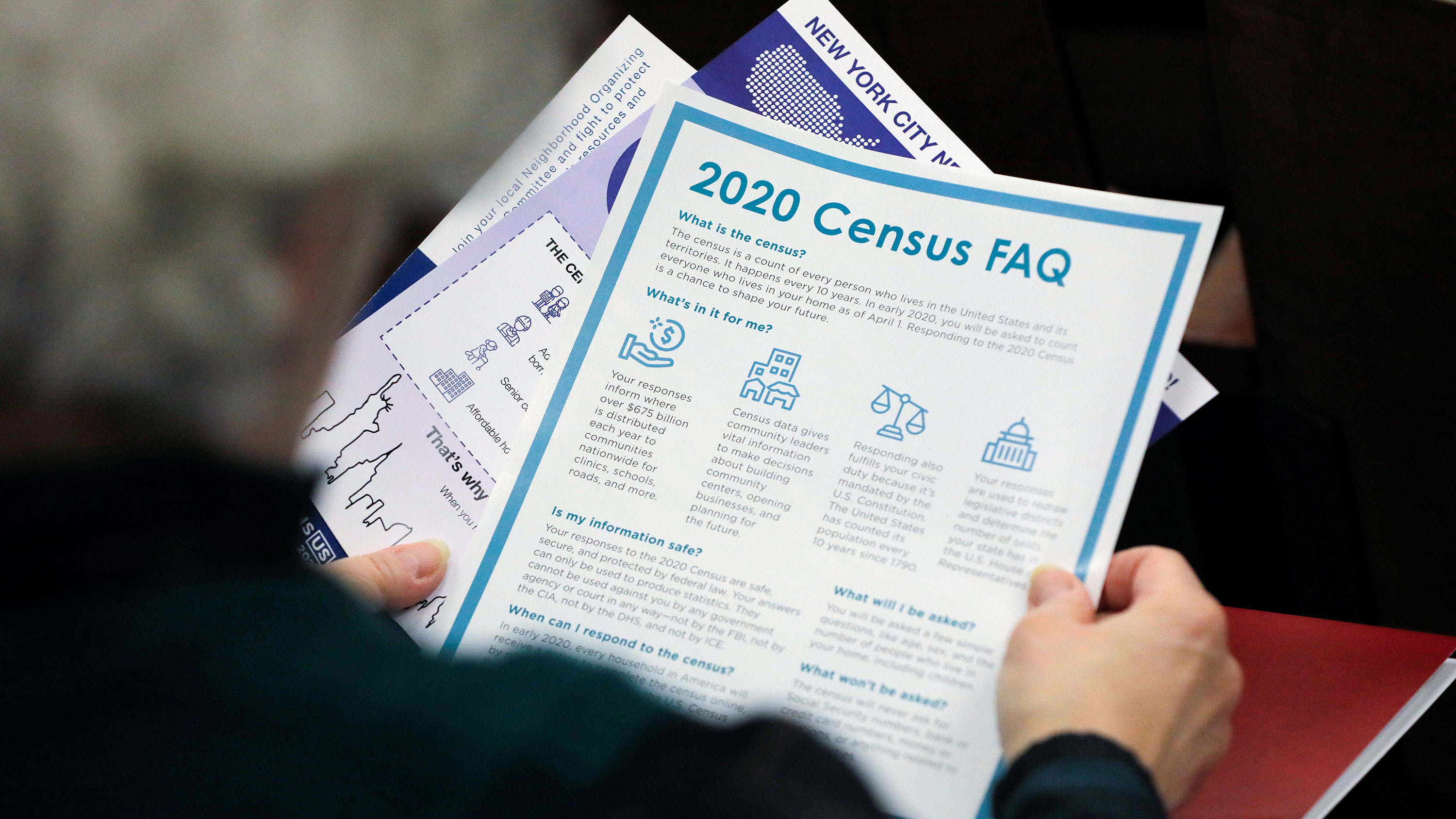 Trump administration is trying to keep census documents secret