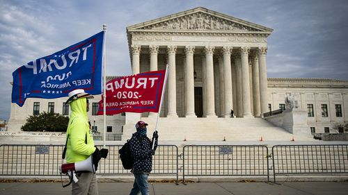 Image for The 2020 election still hovers over the Supreme Court with another pending Pennsylvania case