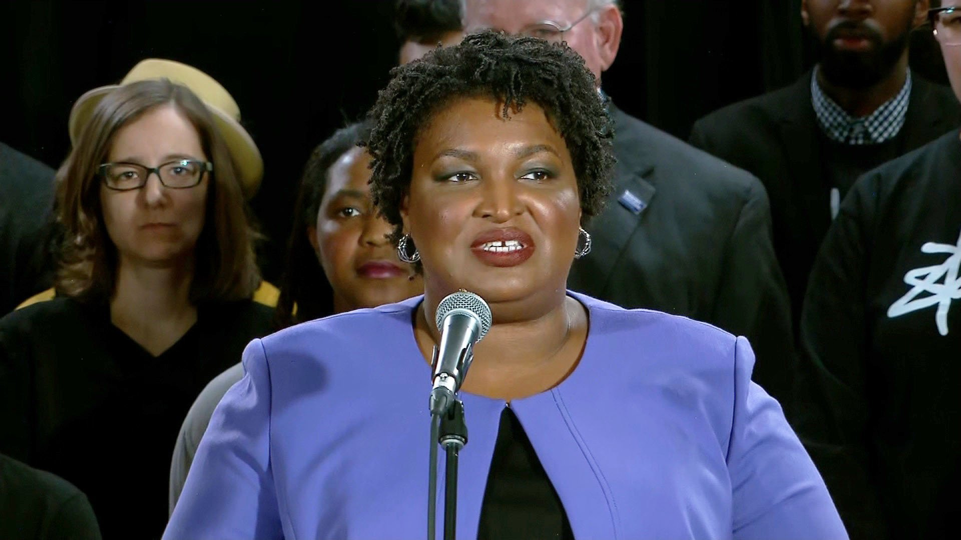 Stacey Abrams has some advice for 2020 Democrats
