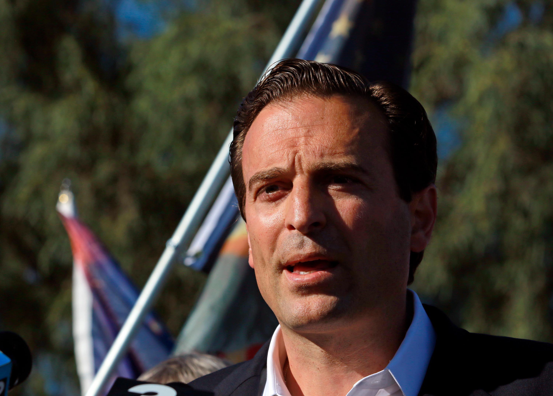 Former Nevada attorney general Adam Laxalt launches Senate campaign