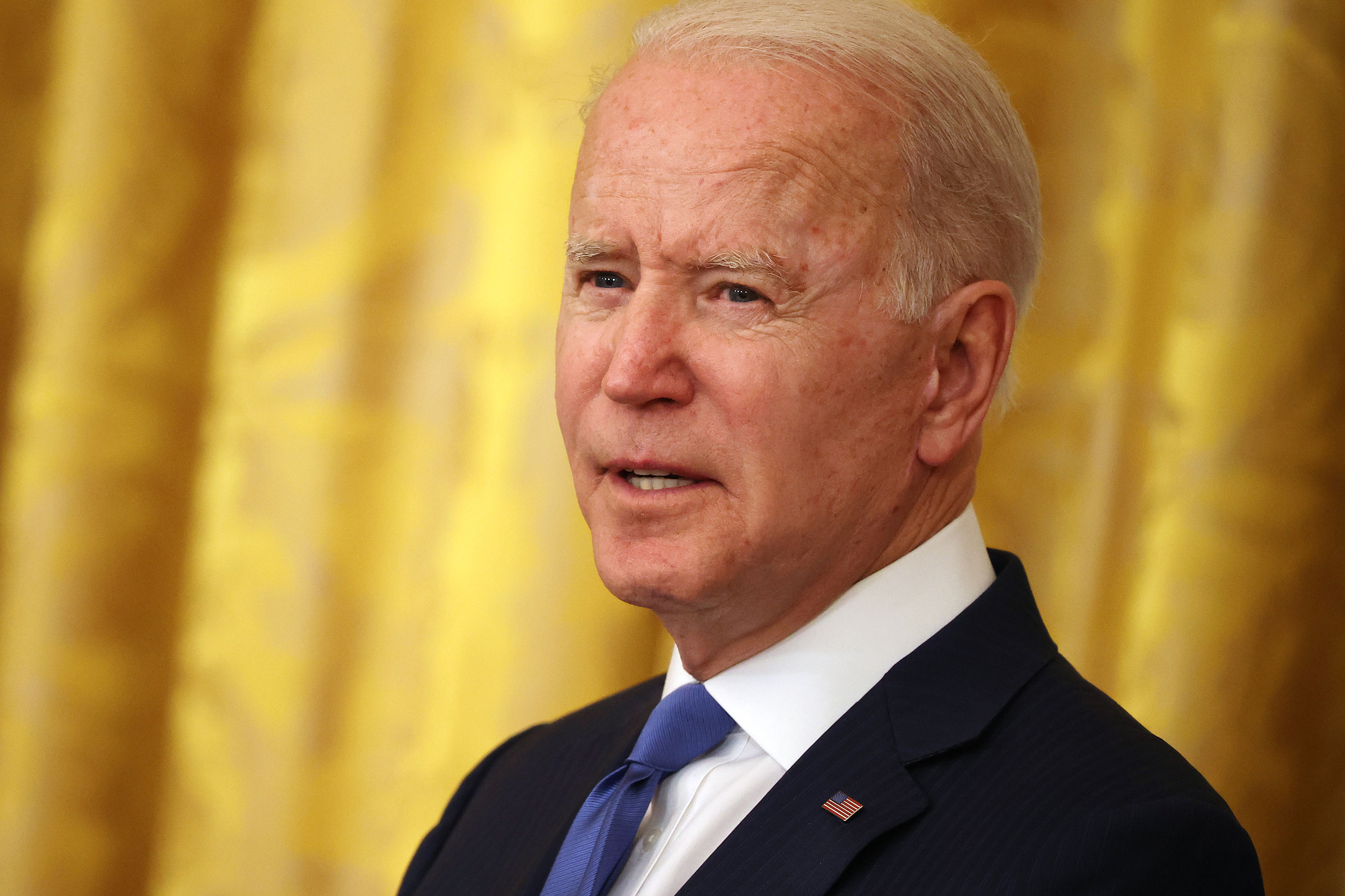 Biden grows visibly frustrated with questions on Afghanistan: 'I want to talk about happy things'