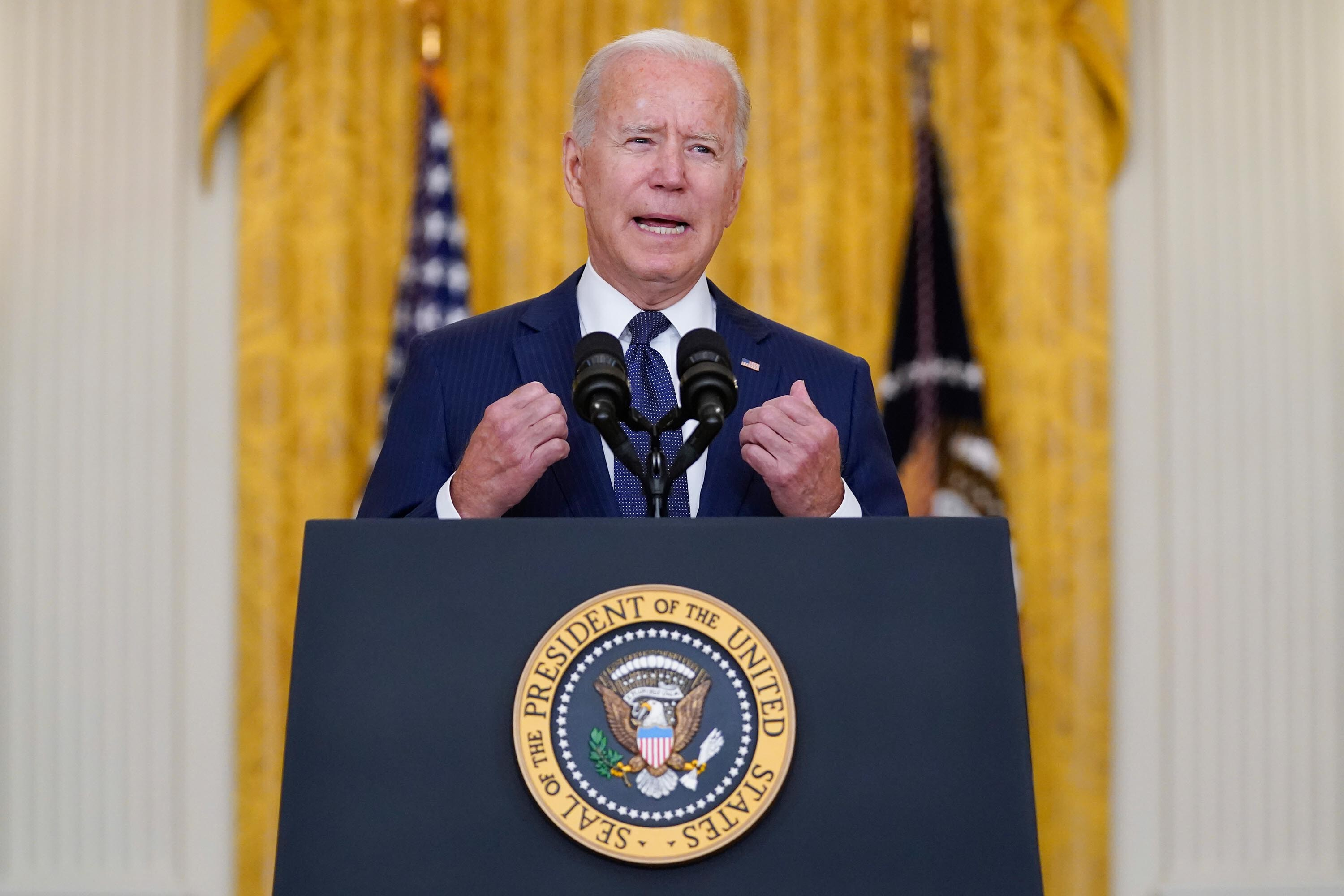Biden says another terrorist attack on Kabul airport is 'highly likely' while vowing that US retaliatory strike was not 'the last'