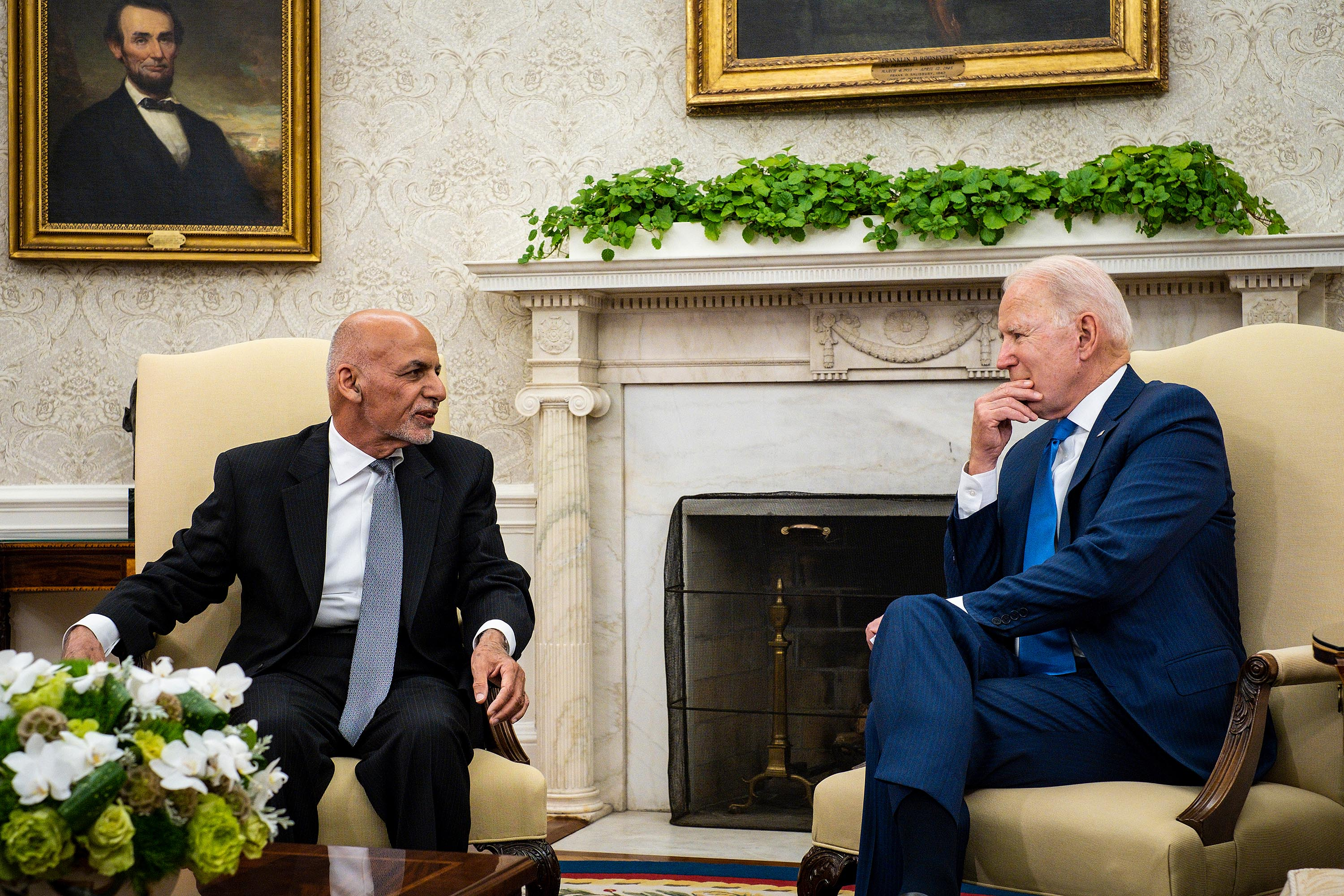 A 'gut decision': Inside Biden's defense of Afghanistan withdrawal amid warnings of country's collapse