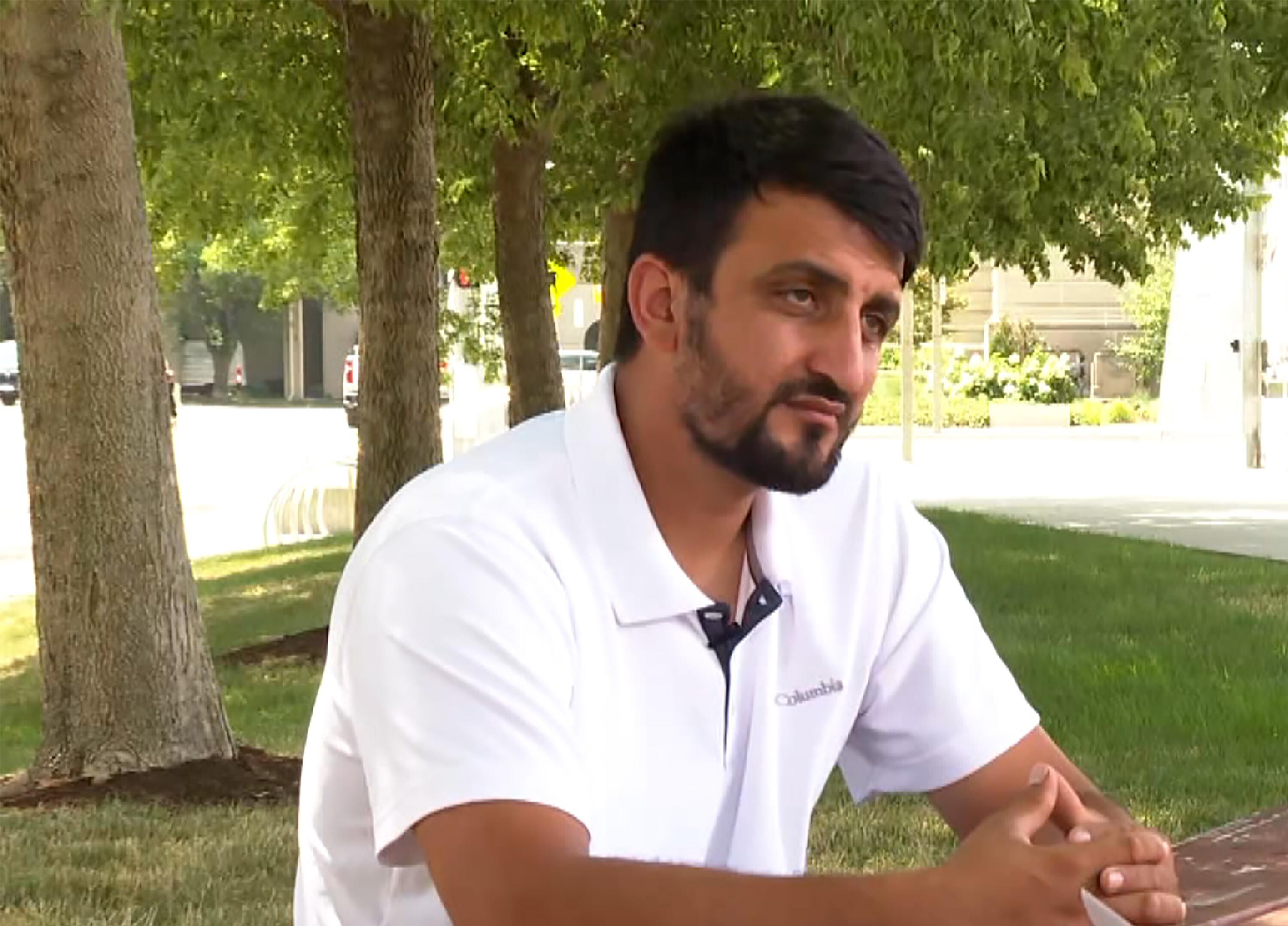 'I want to be alive': Former Afghan interpreter fights to stay in US