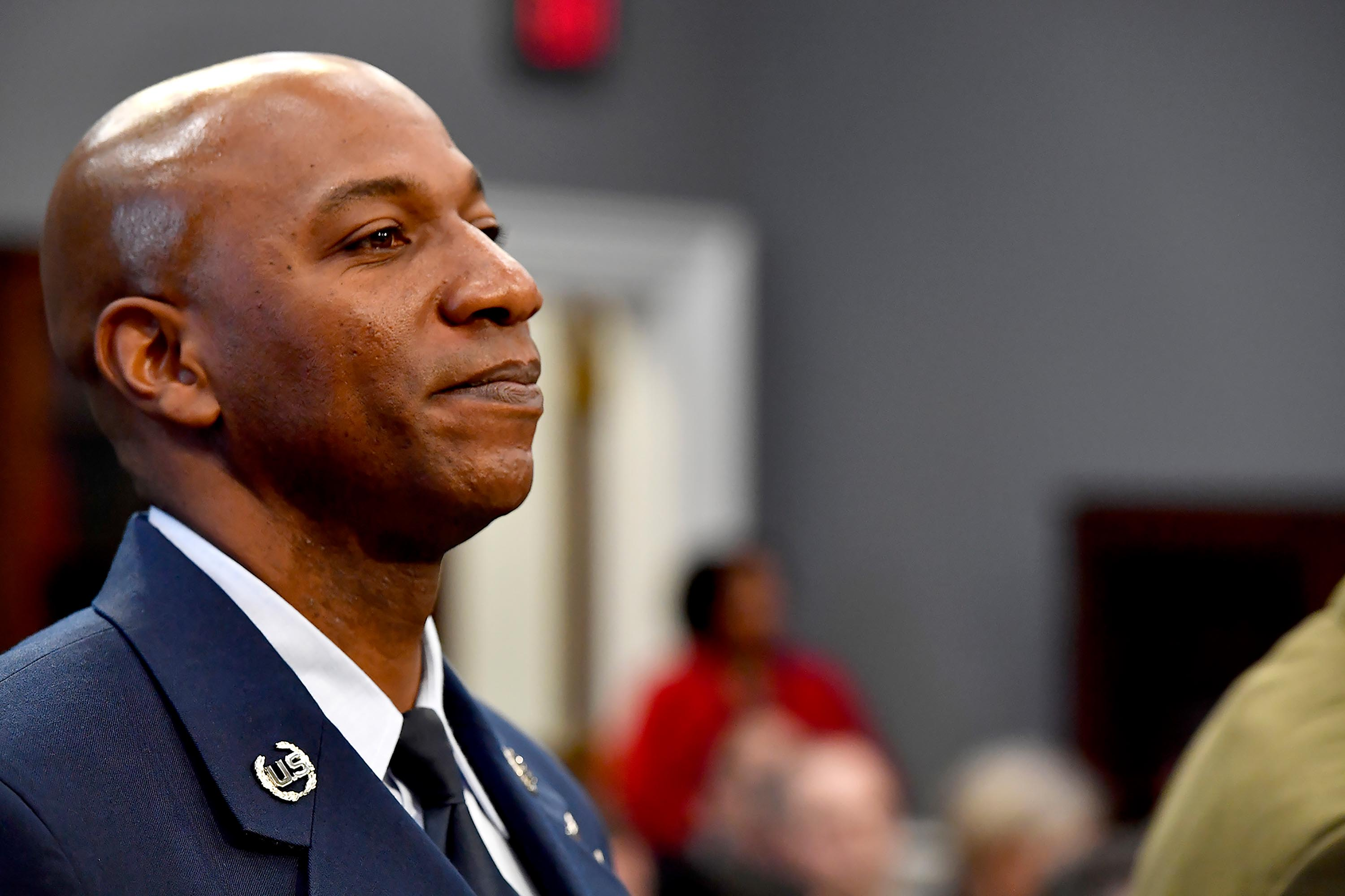 Top Air Force enlistee posts passionate plea for justice