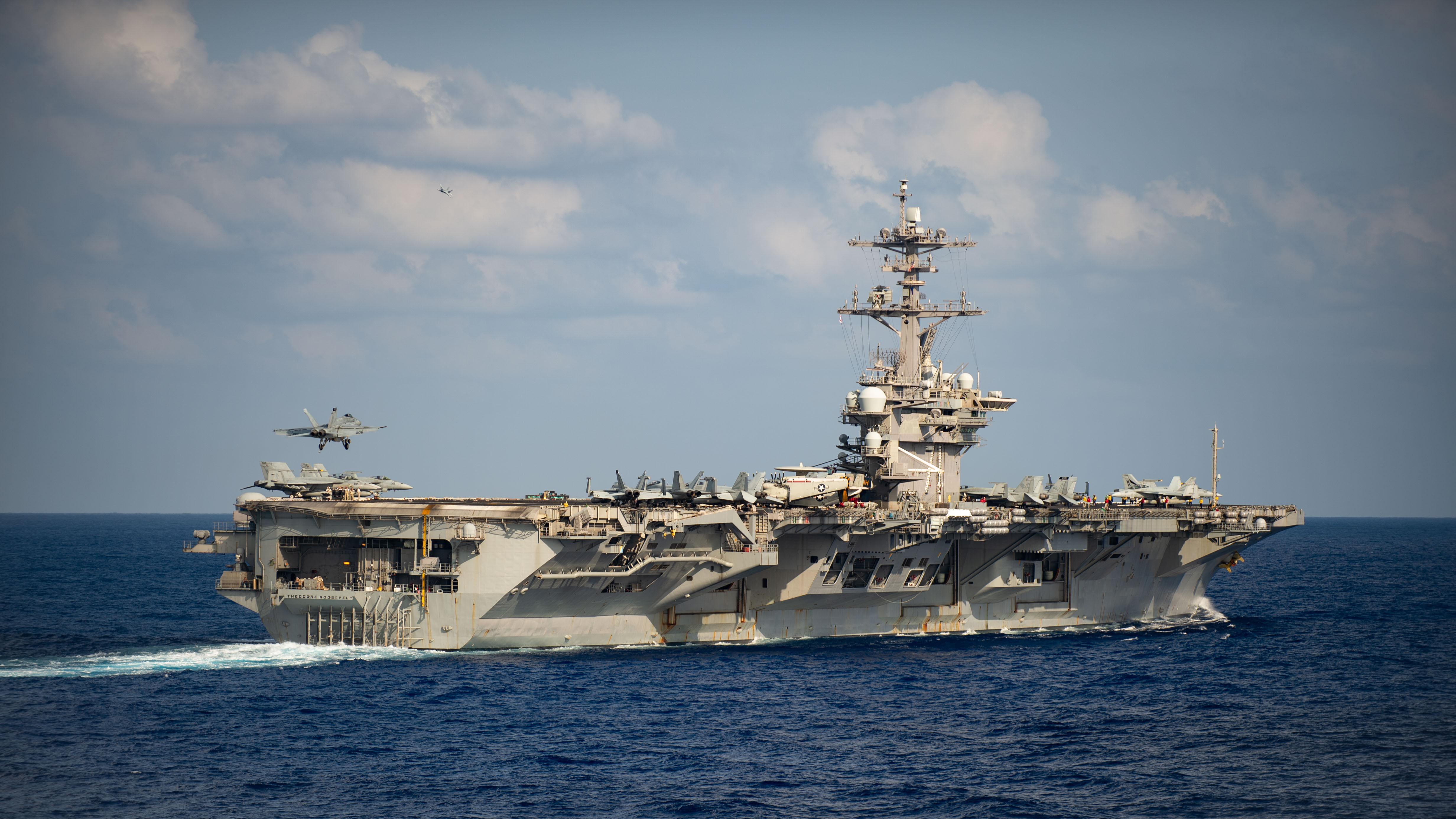 Commander of aircraft carrier hit by coronavirus outbreak asks Navy for more support