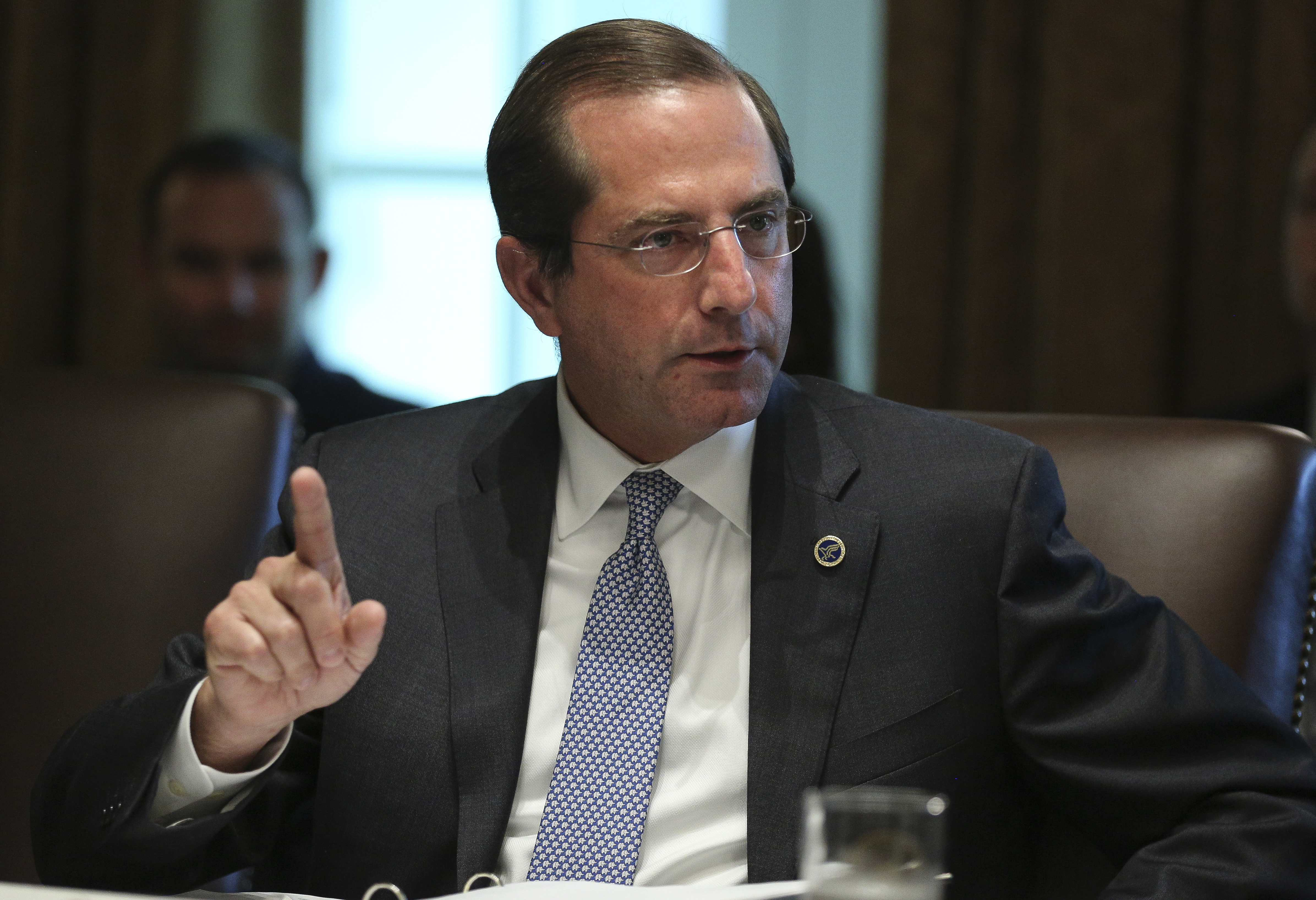 Azar arrives in Taiwan, marking the most senior US visit in decades