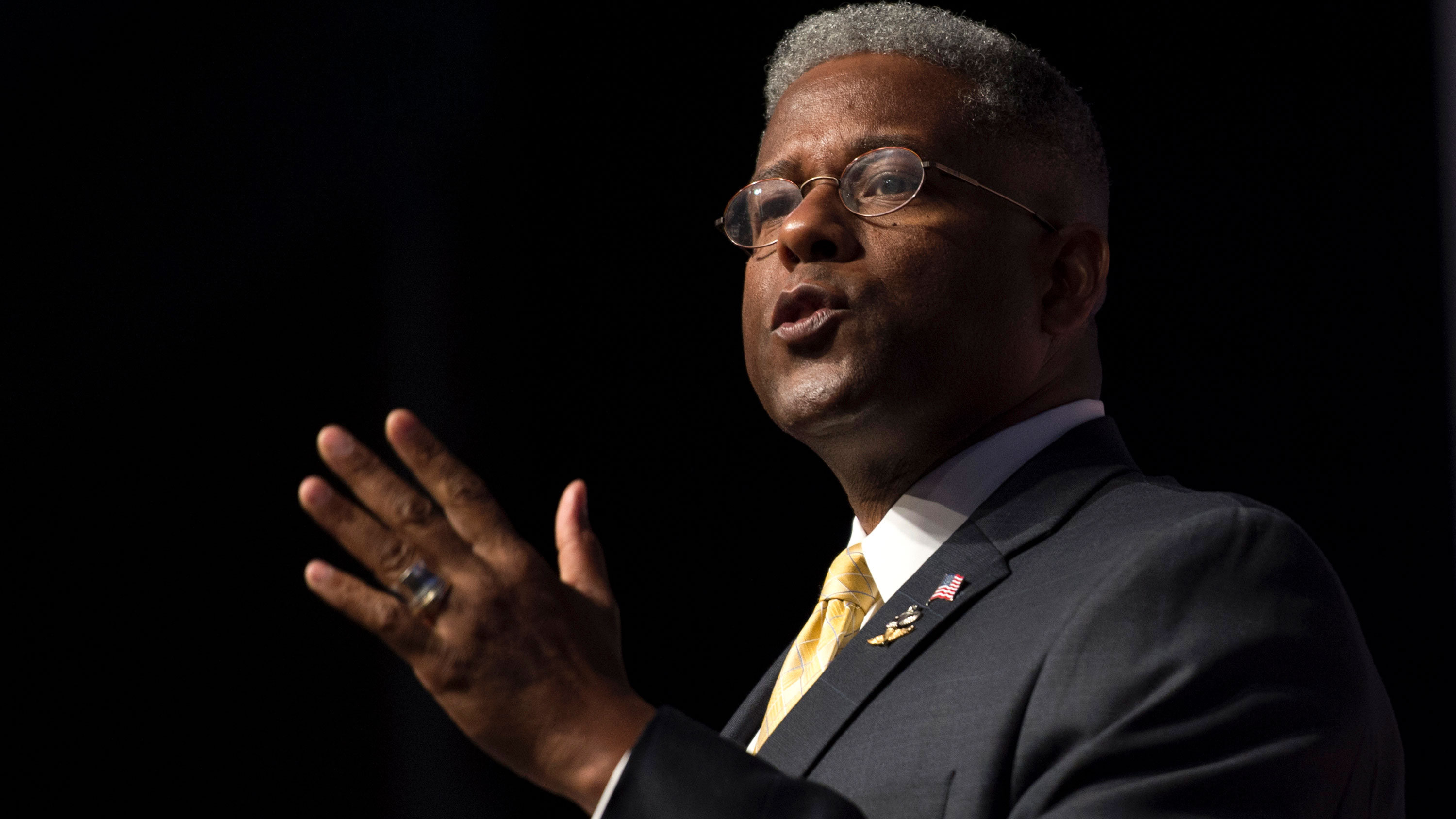 Former US Rep. Allen West injured in a motorcycle accident