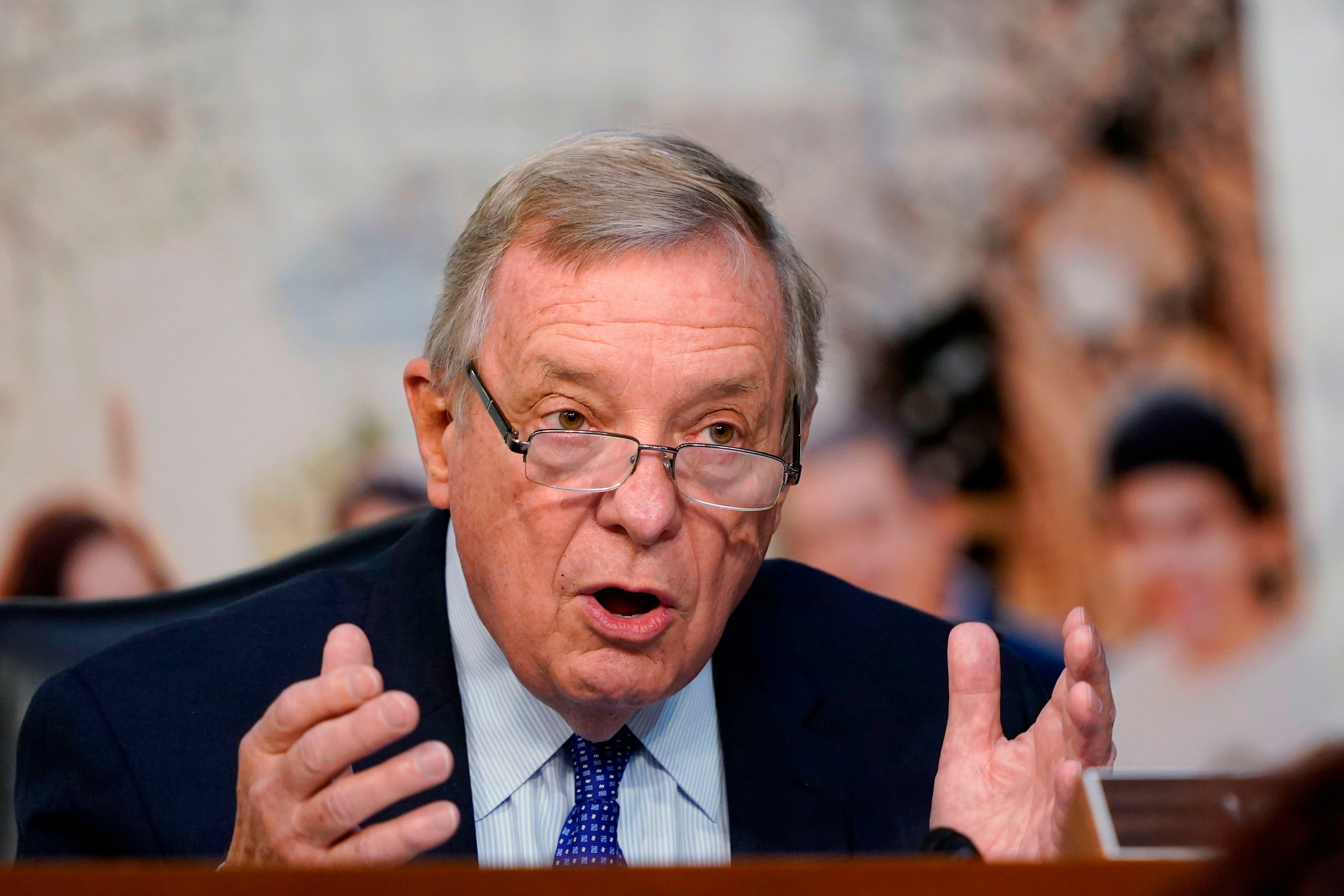 Senate Democratic leaders want members to hold firm against 'lethal' GOP amendments on relief bill