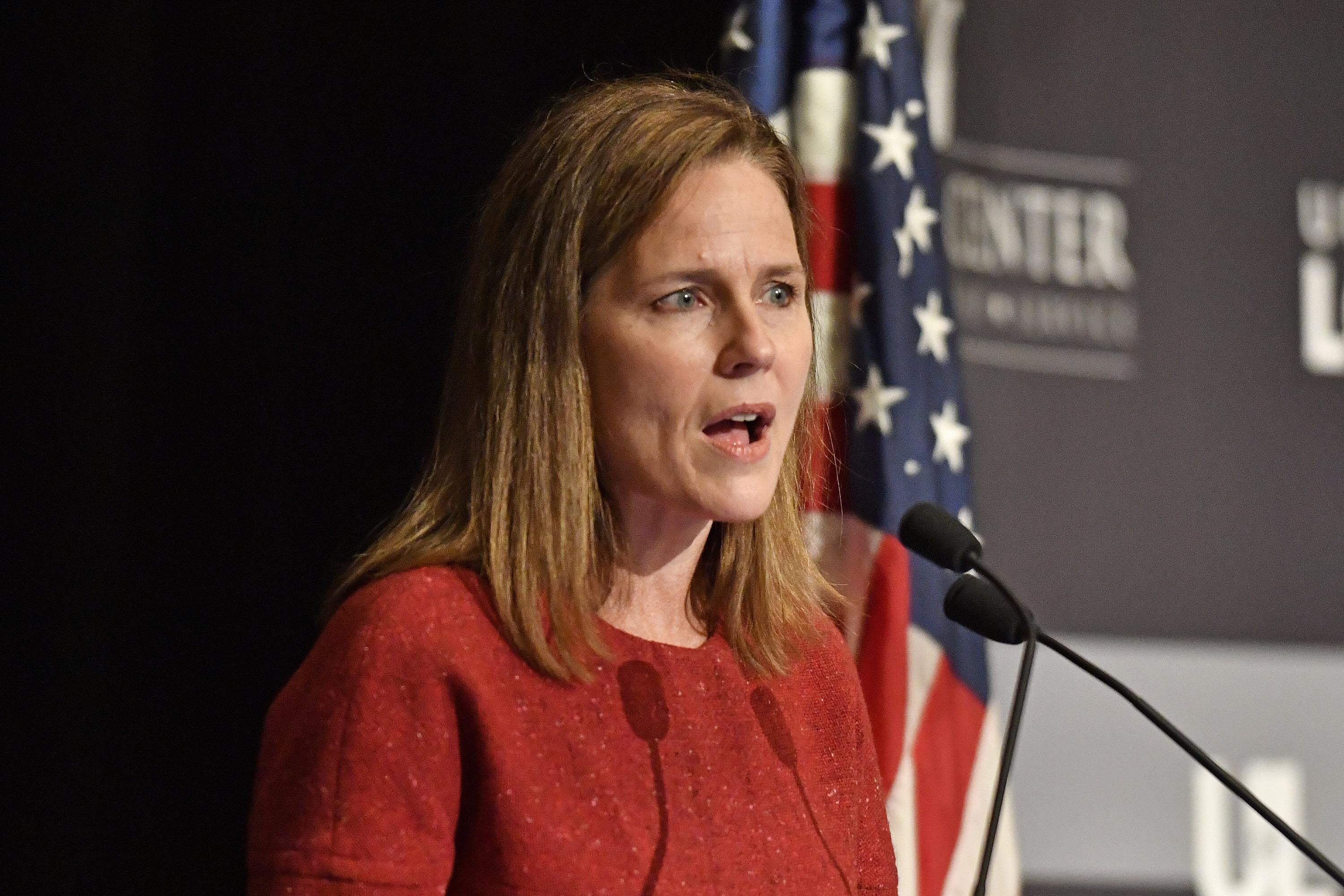 Justice Amy Coney Barrett says Supreme Court is 'not a bunch of partisan hacks'