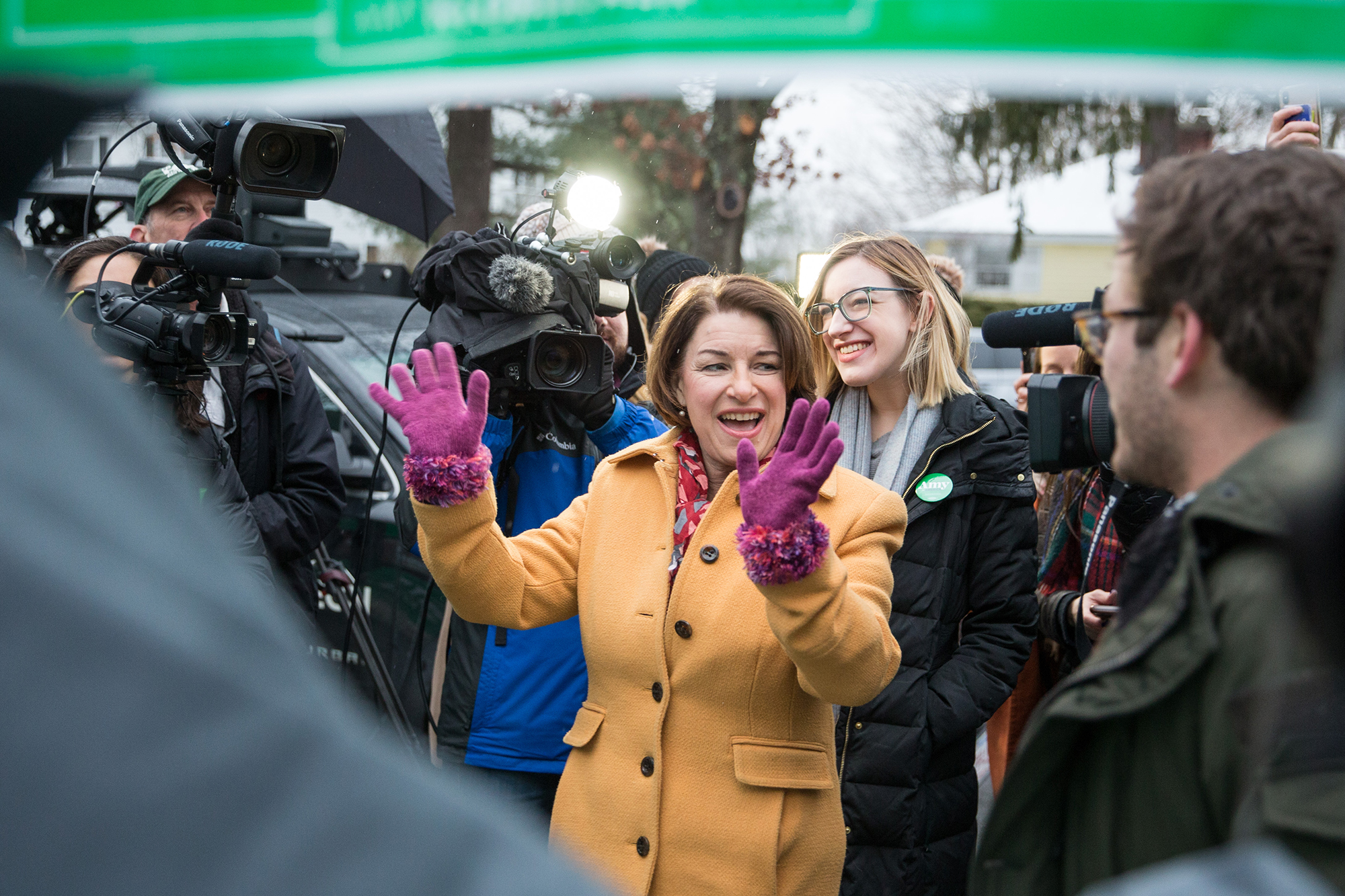 Have momentum, will travel: Klobuchar looks to keep surge going in Nevada