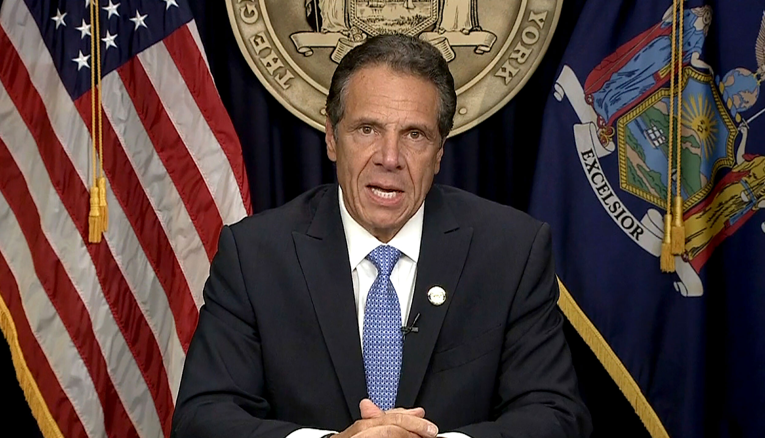 New York Gov. Andrew Cuomo will resign