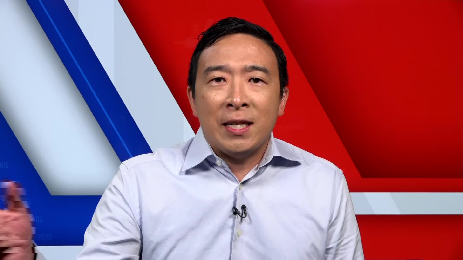 Andrew Yang announces candidacy for New York mayor with surprising endorsement