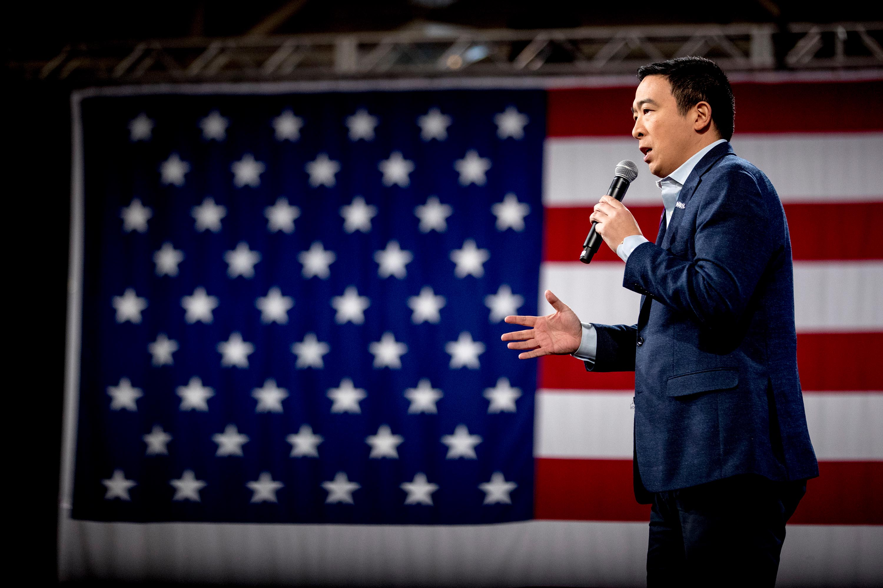 Andrew Yang joins CNN as a political commentator