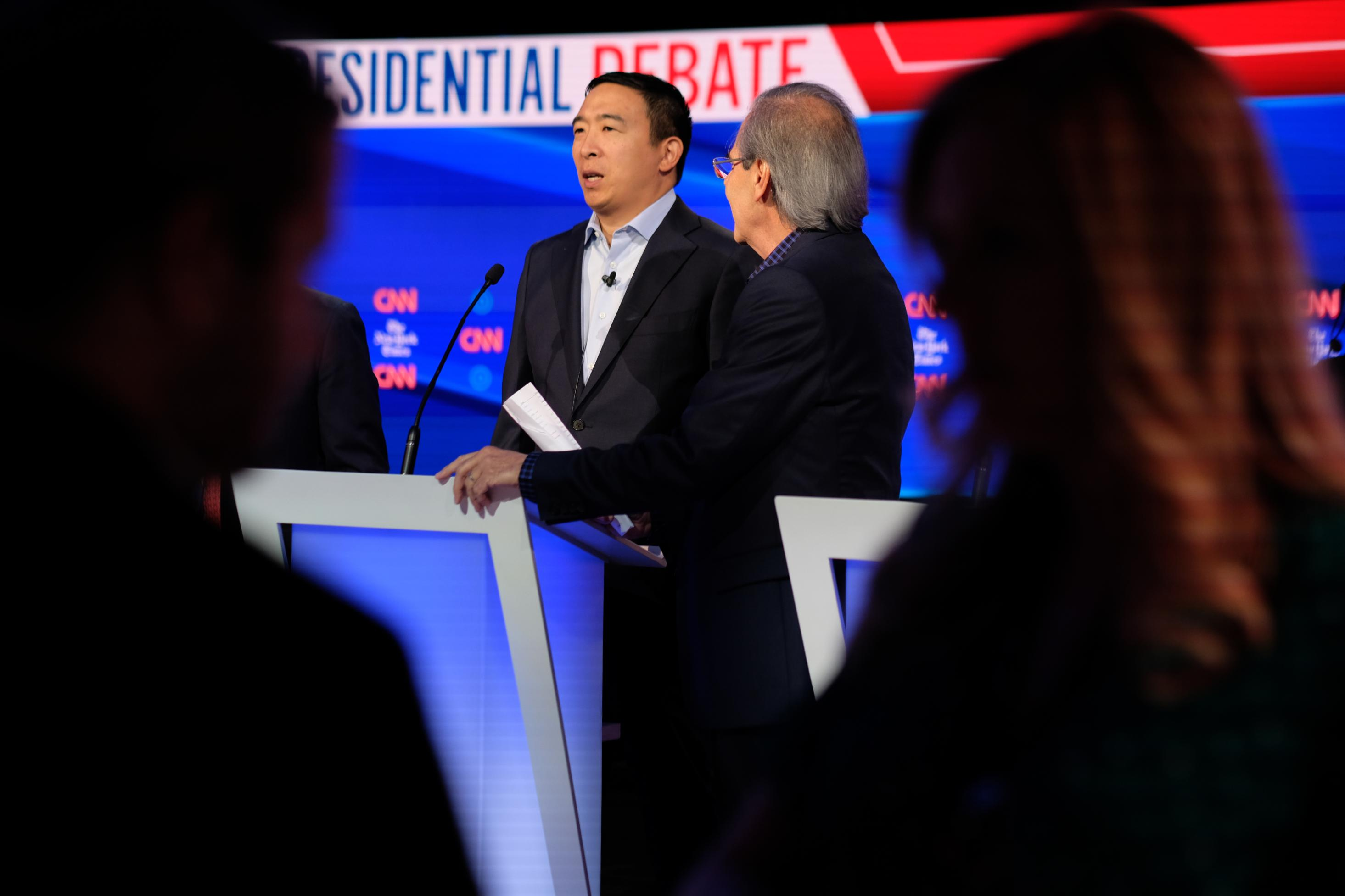 Andrew Yang qualifies for December debate stage with latest poll