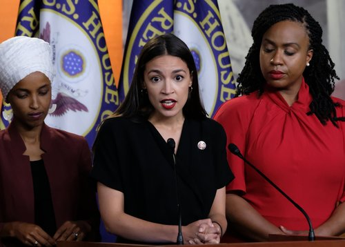 Image for Ocasio-Cortez fires back at Trump, cites sexual assault allegations