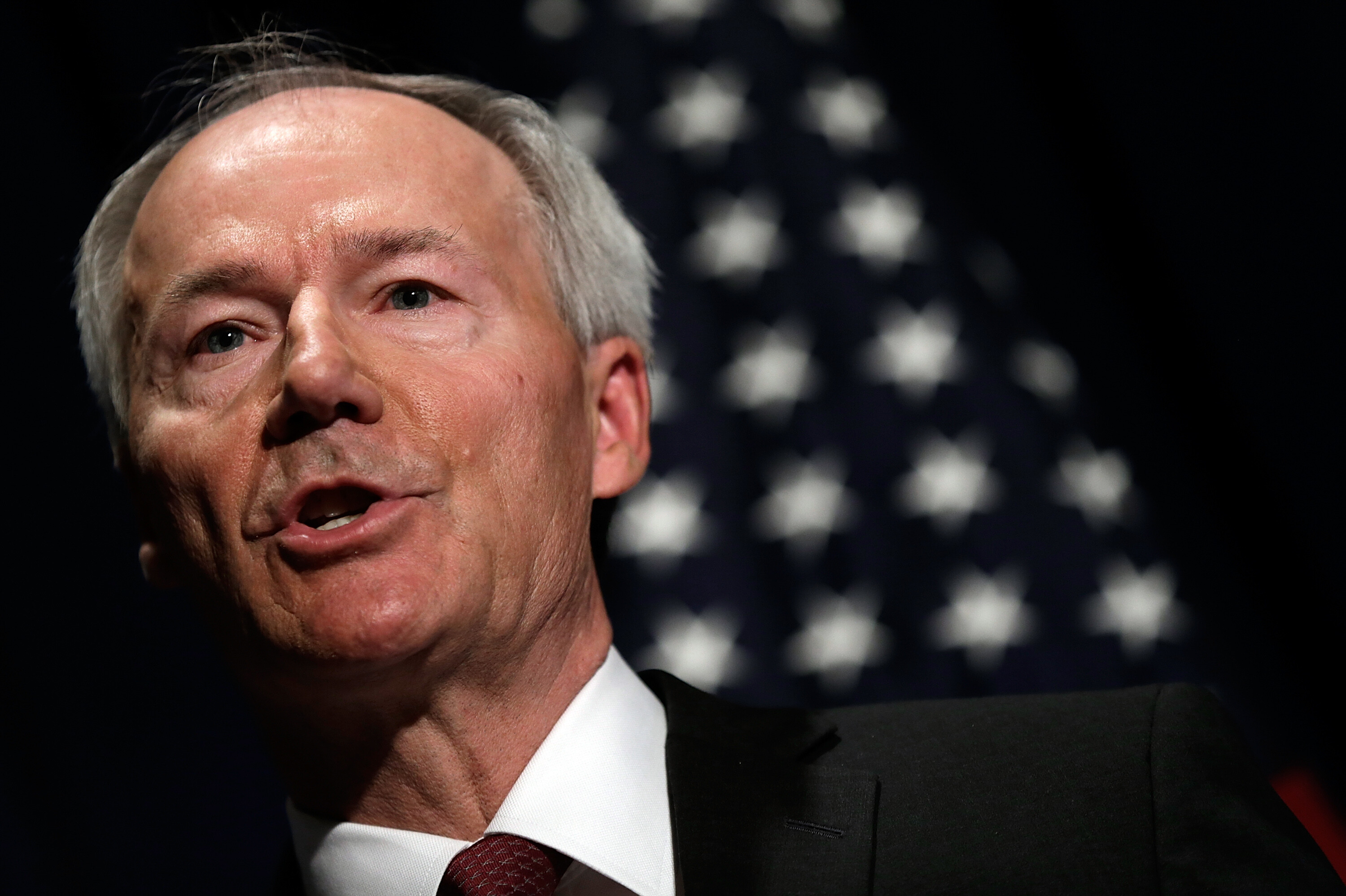 Arkansas GOP governor says he regrets ban on mask mandates as Covid-19 cases surge