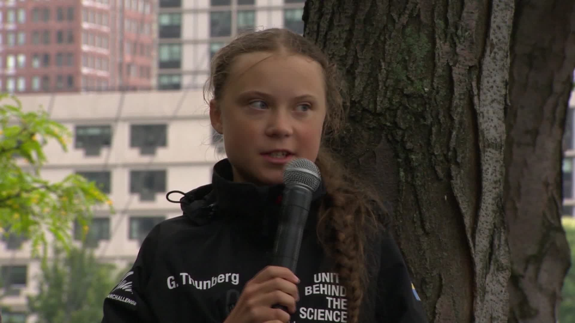 Obama meets with teen climate activist Greta Thunberg: 'You and me, we're a team'