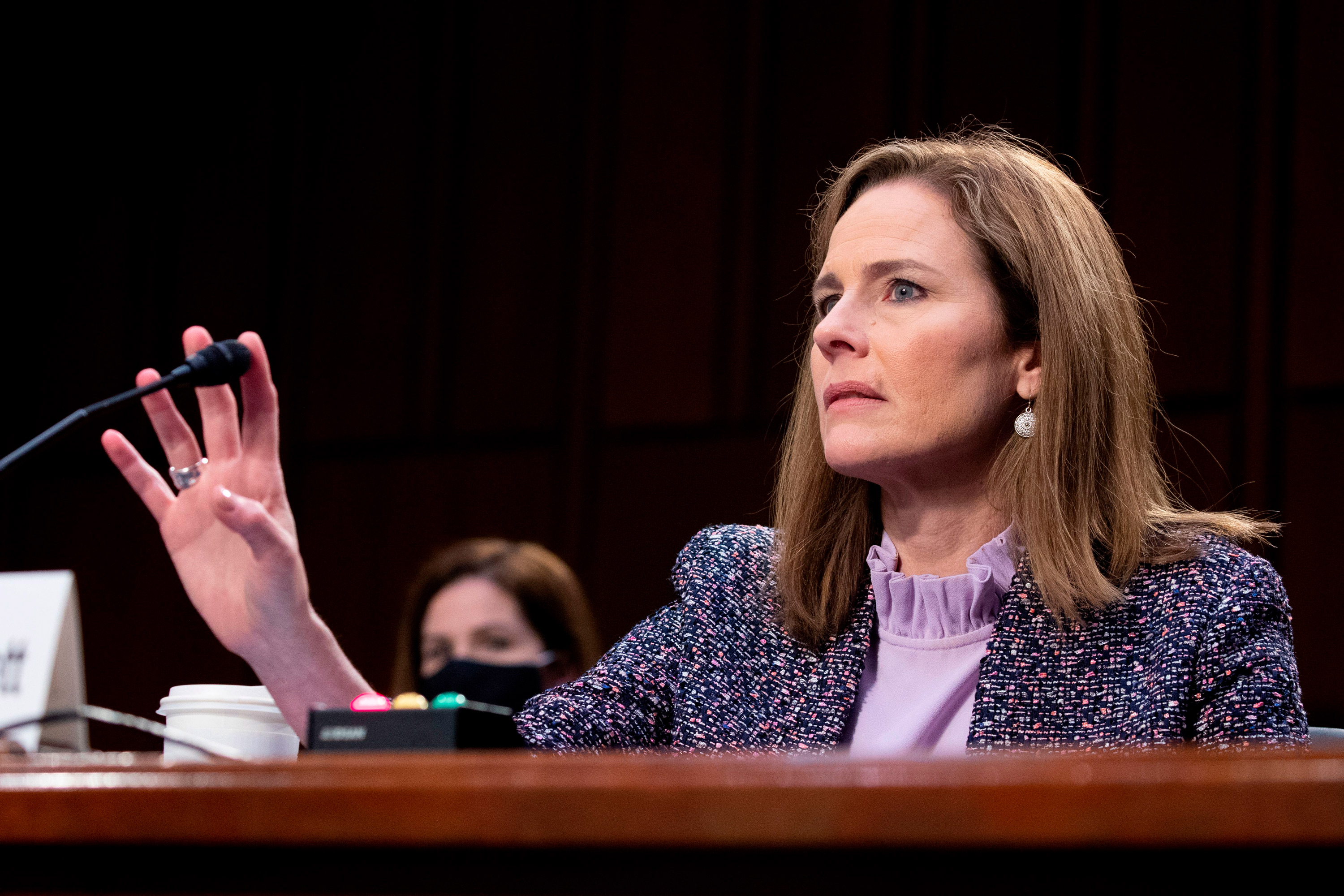 Judge Amy Coney Barrett again updates her Senate paperwork after CNN's KFile found omissions