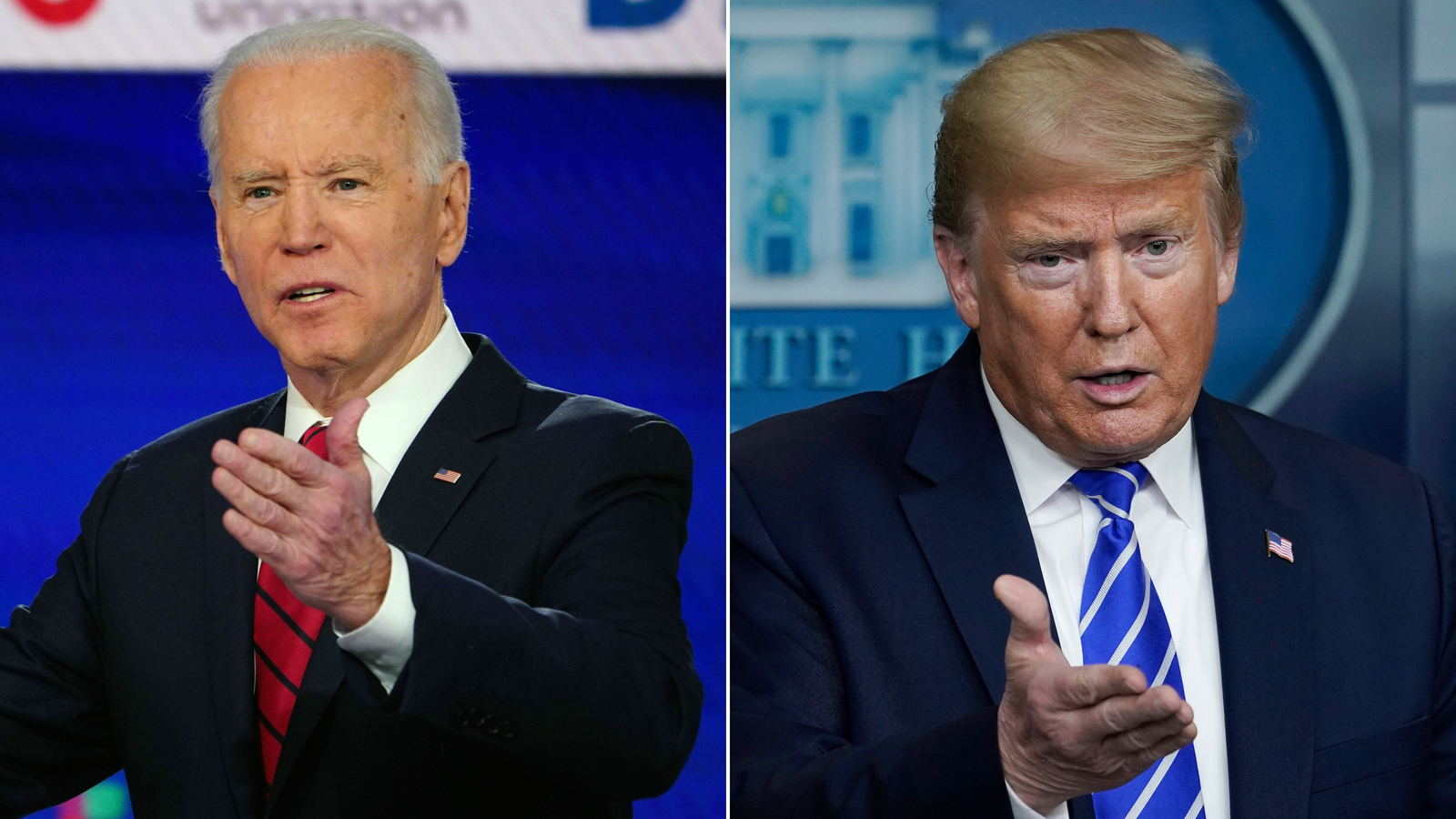 America's unrest sets up battle for nation's soul between Trump and Biden