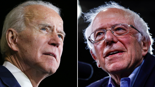 Image for Bernie Sanders endorses Joe Biden for president