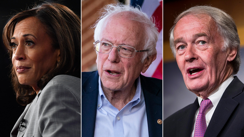 Image for Bernie Sanders, Kamala Harris and Ed Markey team up to propose monthly payments of $2K during pandemic