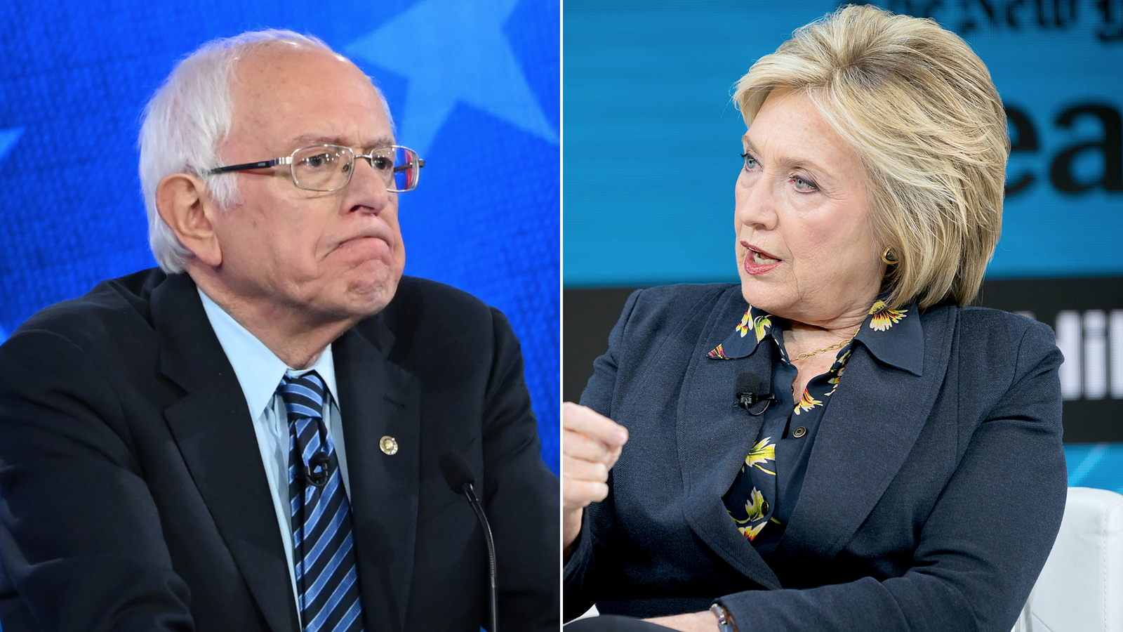 Sanders reacts to Clinton's attacks on him: 'Not the kind of rhetoric that we need'