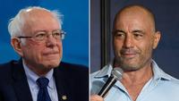 Bernie Sanders draws criticism for touting Joe Rogan endorsement