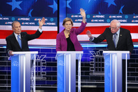 Sanders leads Democratic field in new national poll