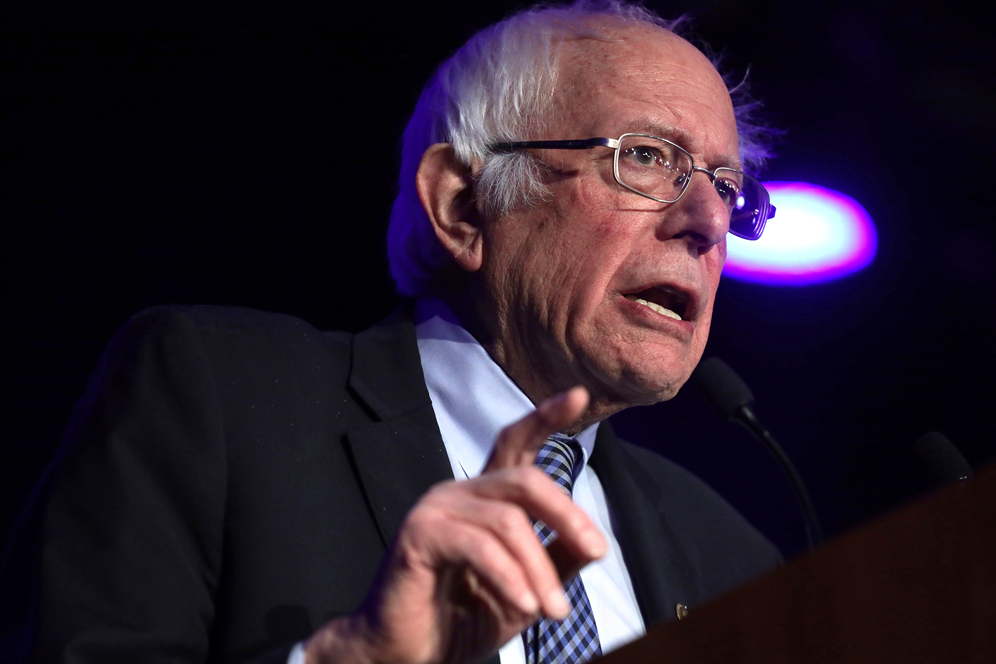 Sanders: 'I do not believe in online bullying. End of discussion'