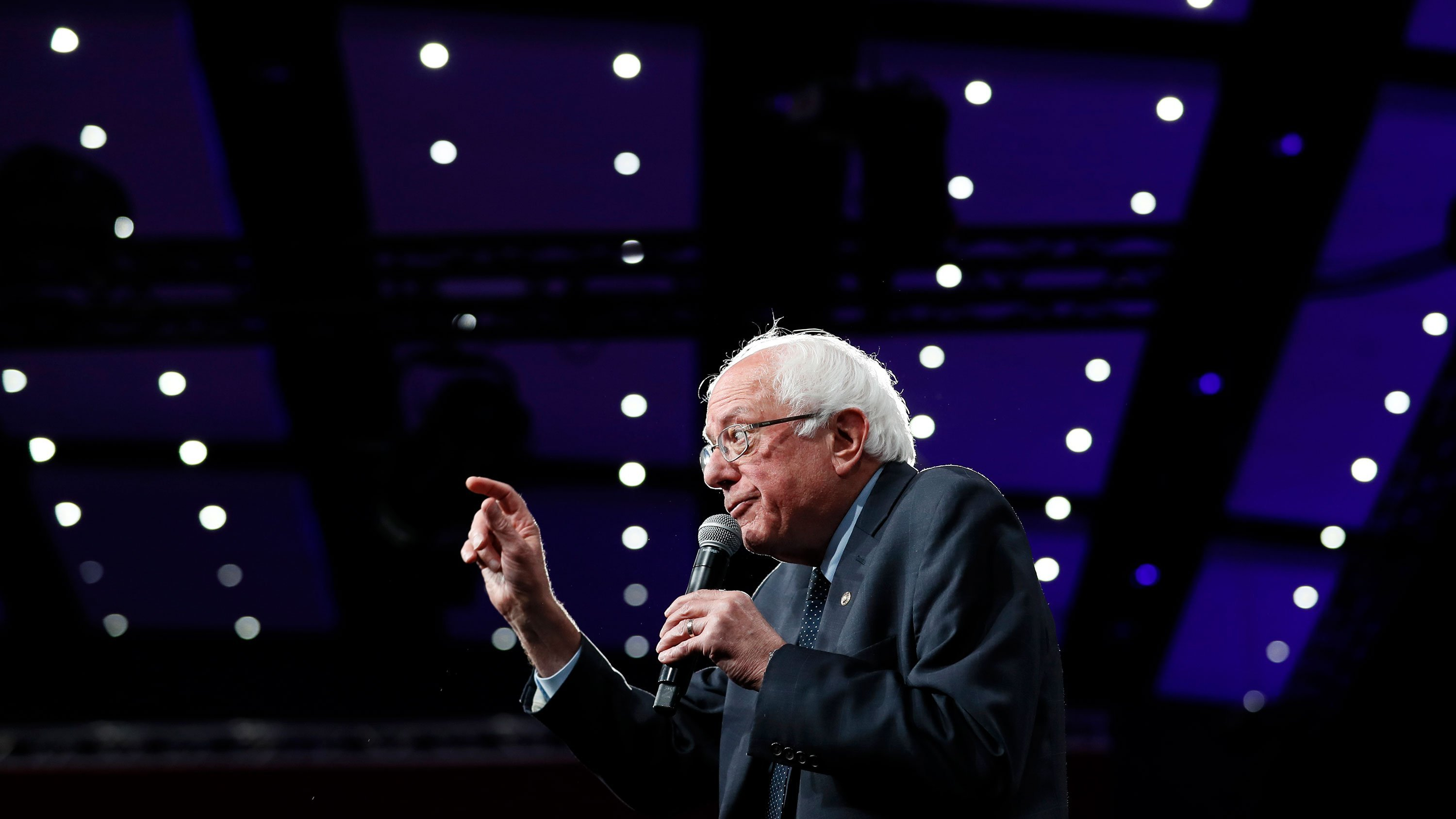 Bernie Sanders jabs Trump over comments about Jewish loyalty