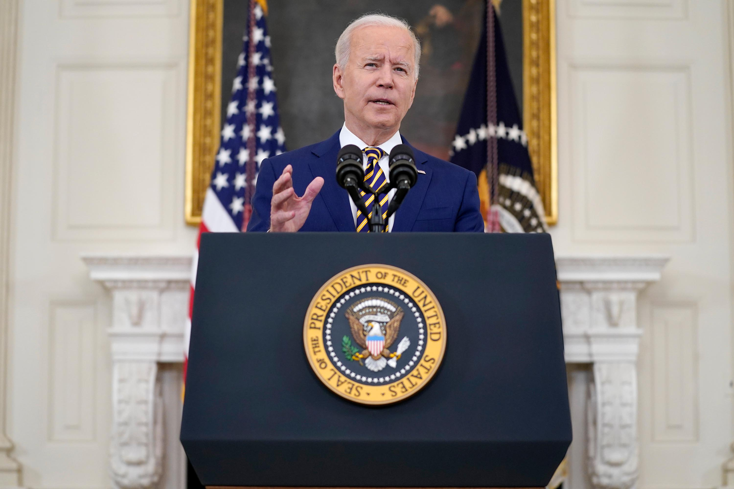 Biden administration announces plan to share 55 million Covid-19 doses abroad