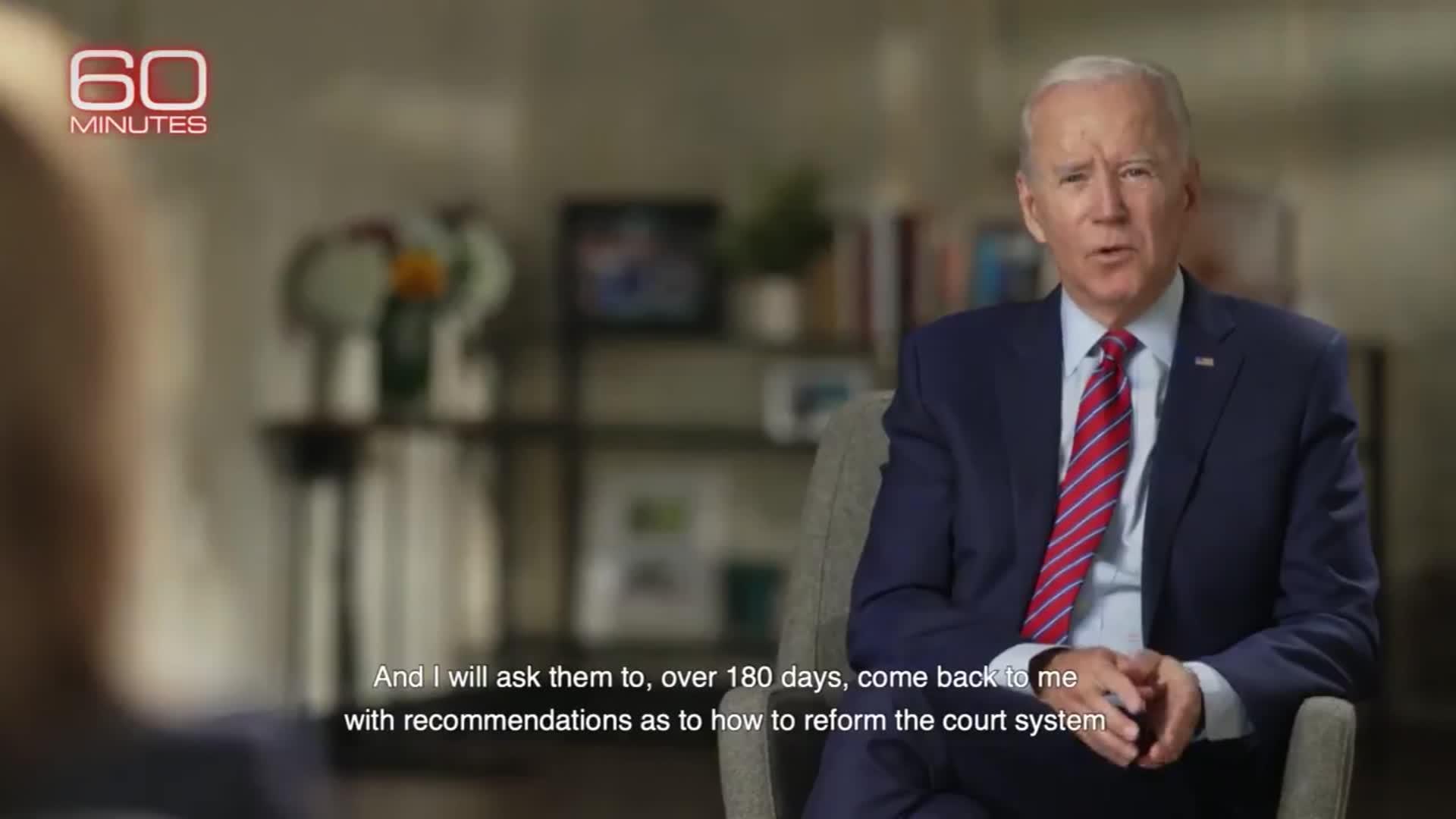 Fact-checking Biden on '60 Minutes'