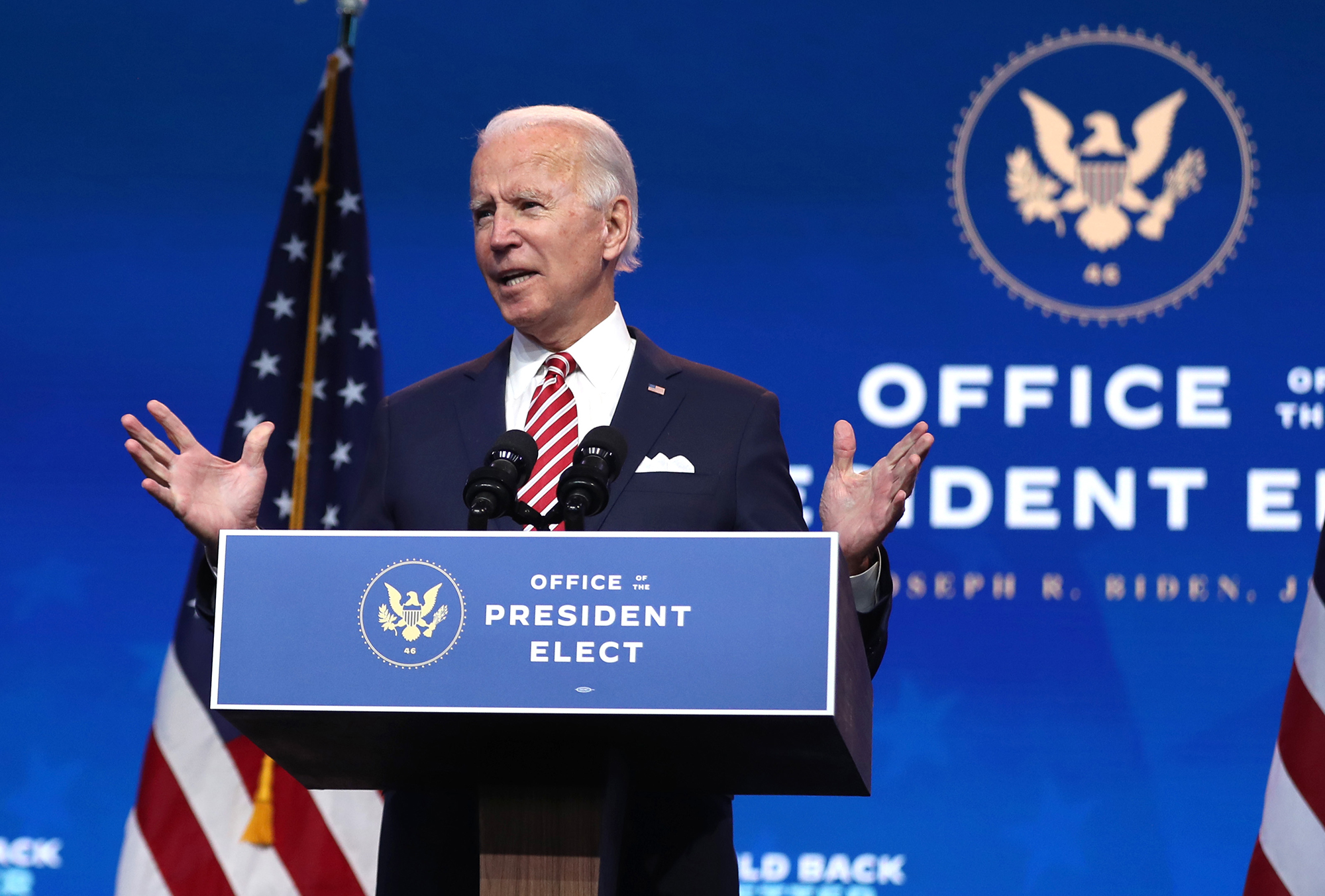 Biden's margin of victory over Trump surpasses 6 million votes