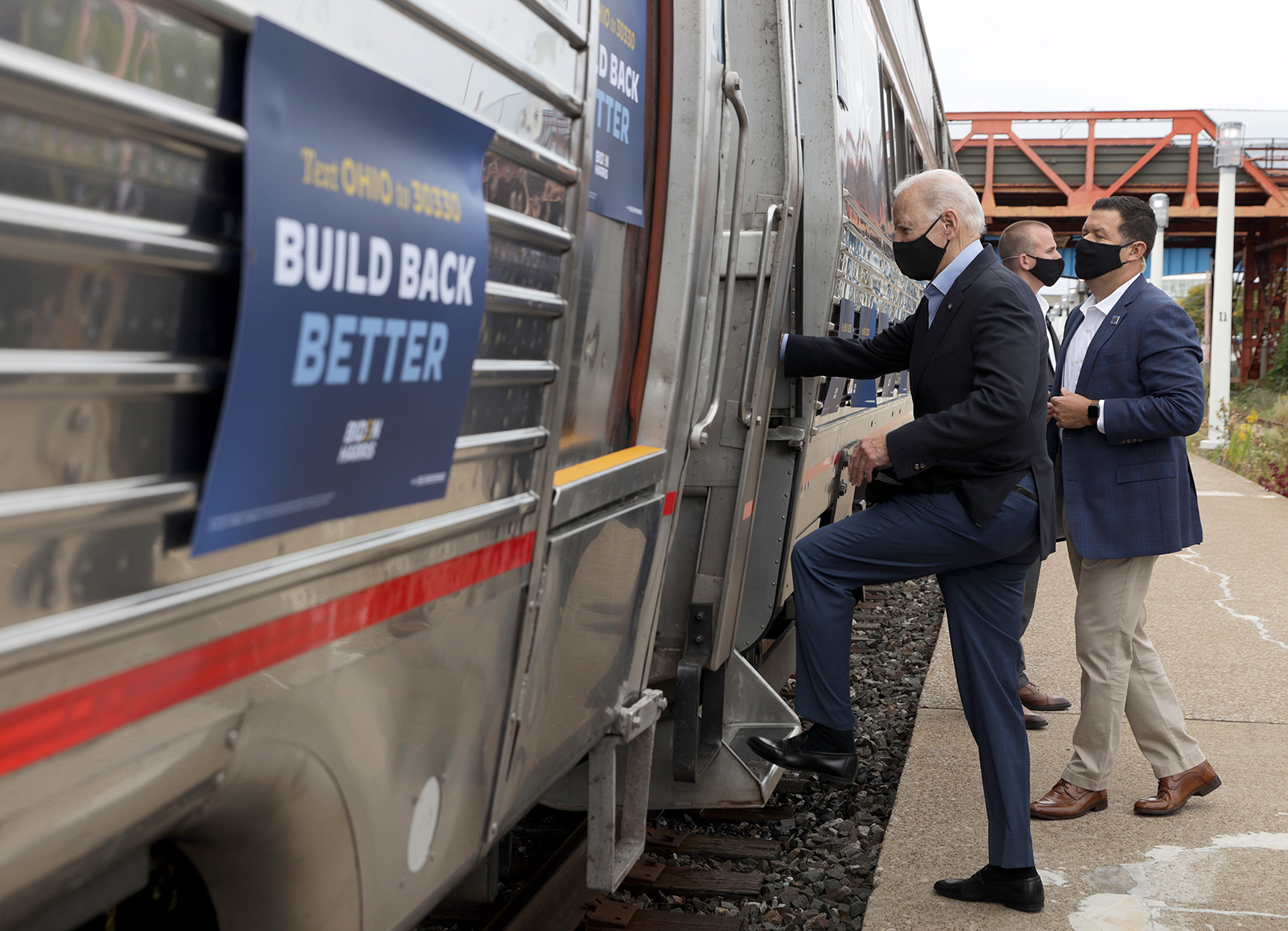 Biden no longer taking Amtrak to inauguration amid security concerns