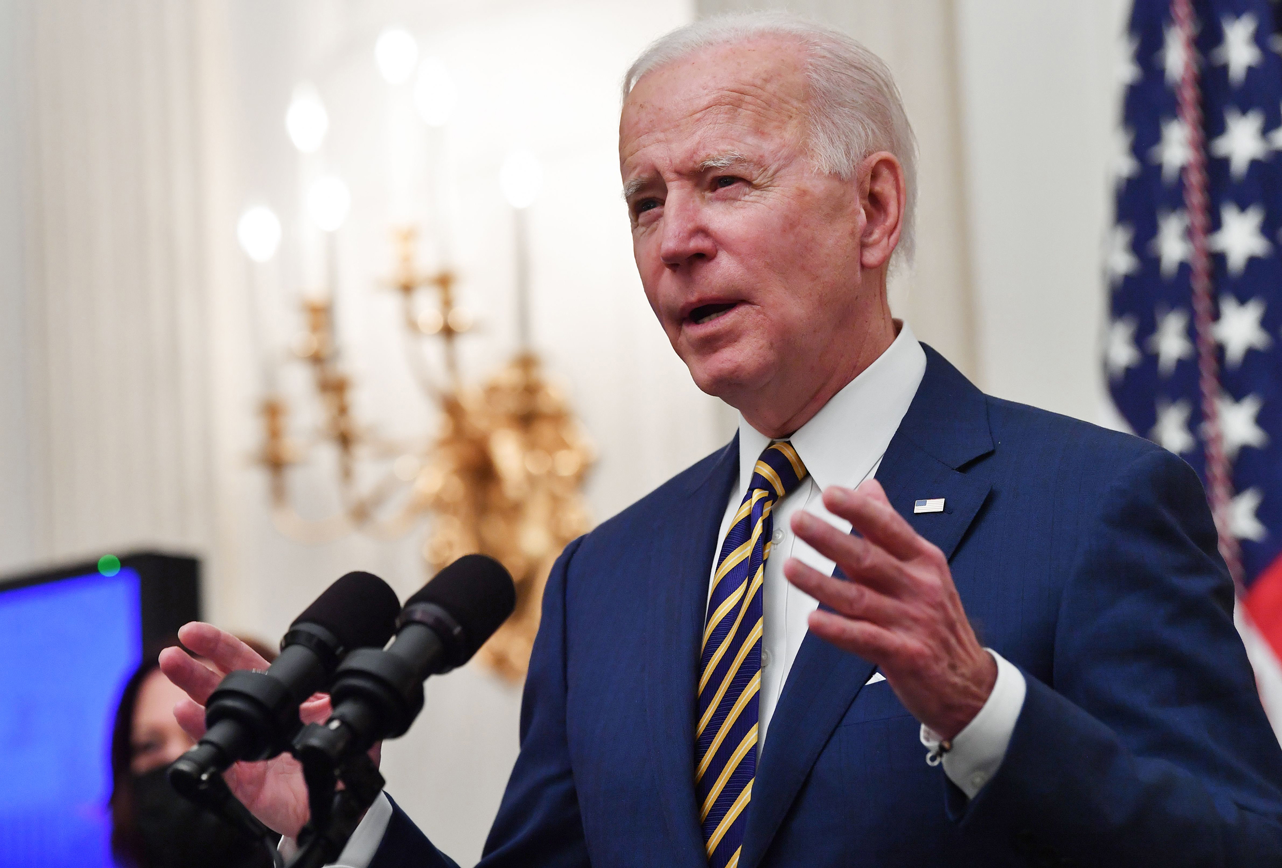 Biden's push for bipartisanship faces early test