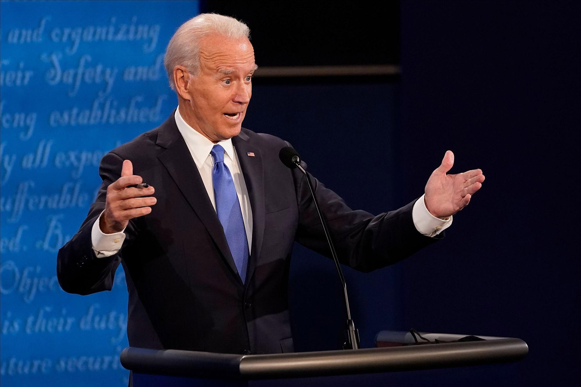 Biden says coronavirus vaccine must be 'freely available to everyone'