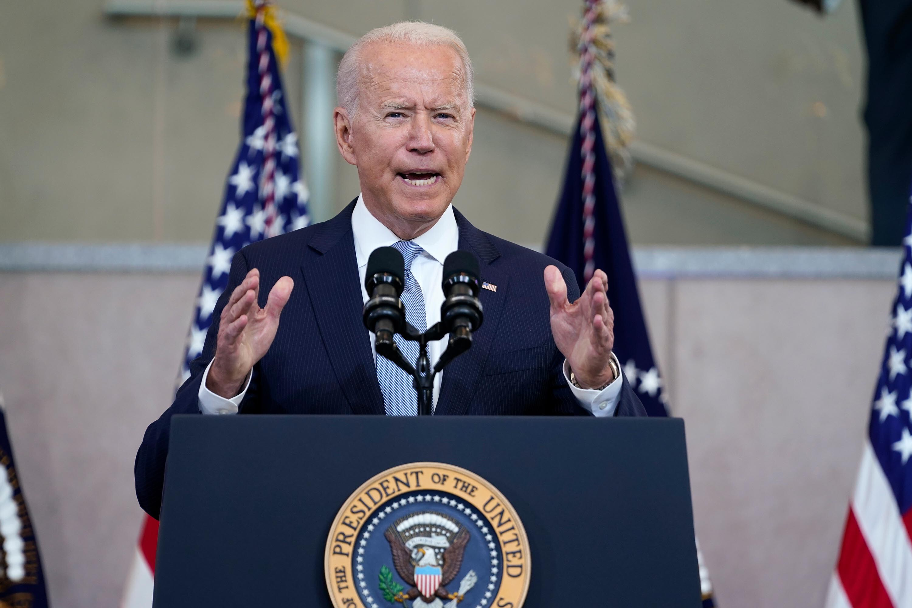 Biden takes on multiple crises without key confirmed officials at the helm