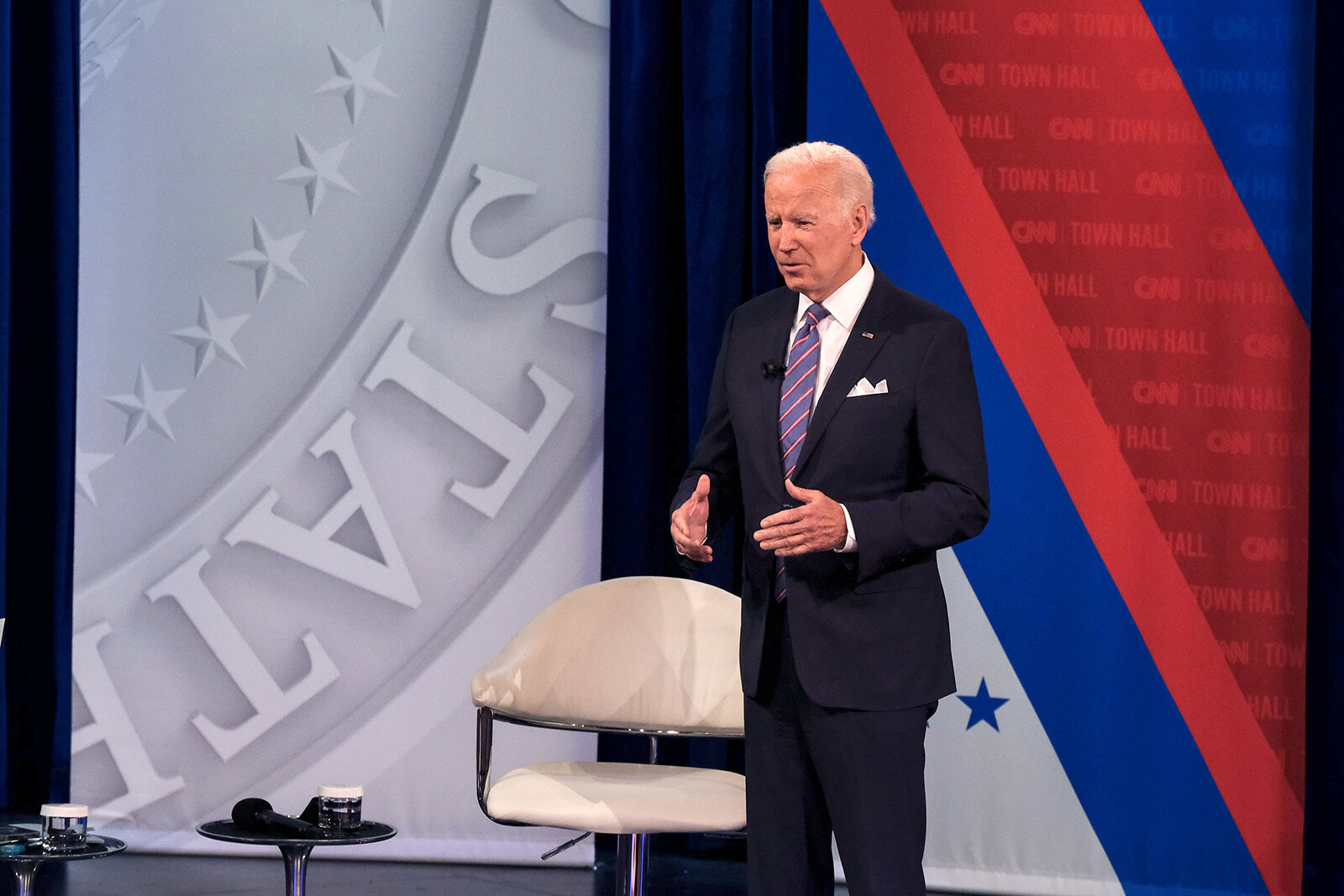 Biden says he's considering deploying the National Guard to ease supply chain crisis