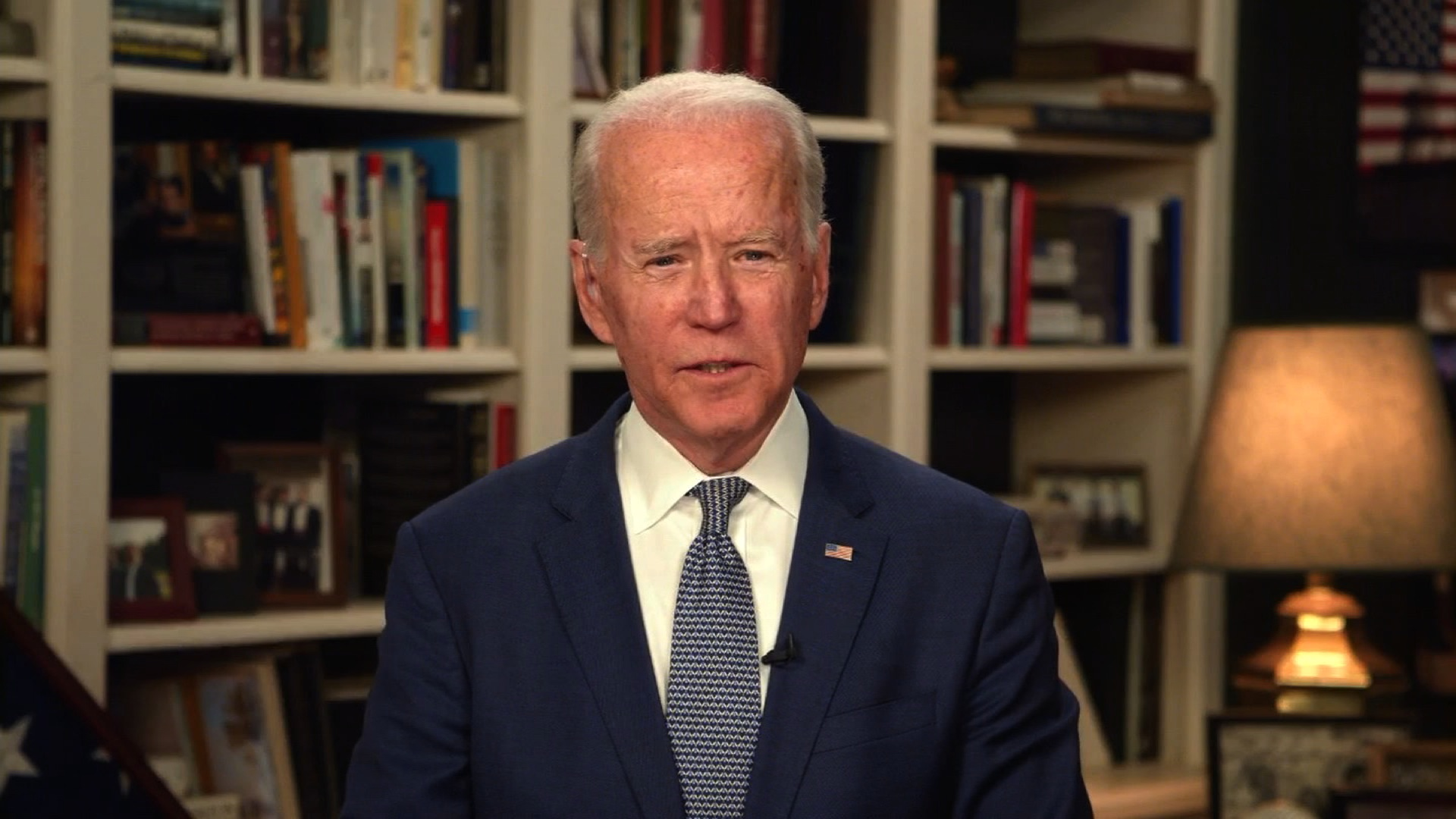 Biden makes pitch as an empathetic leader in new digital ad
