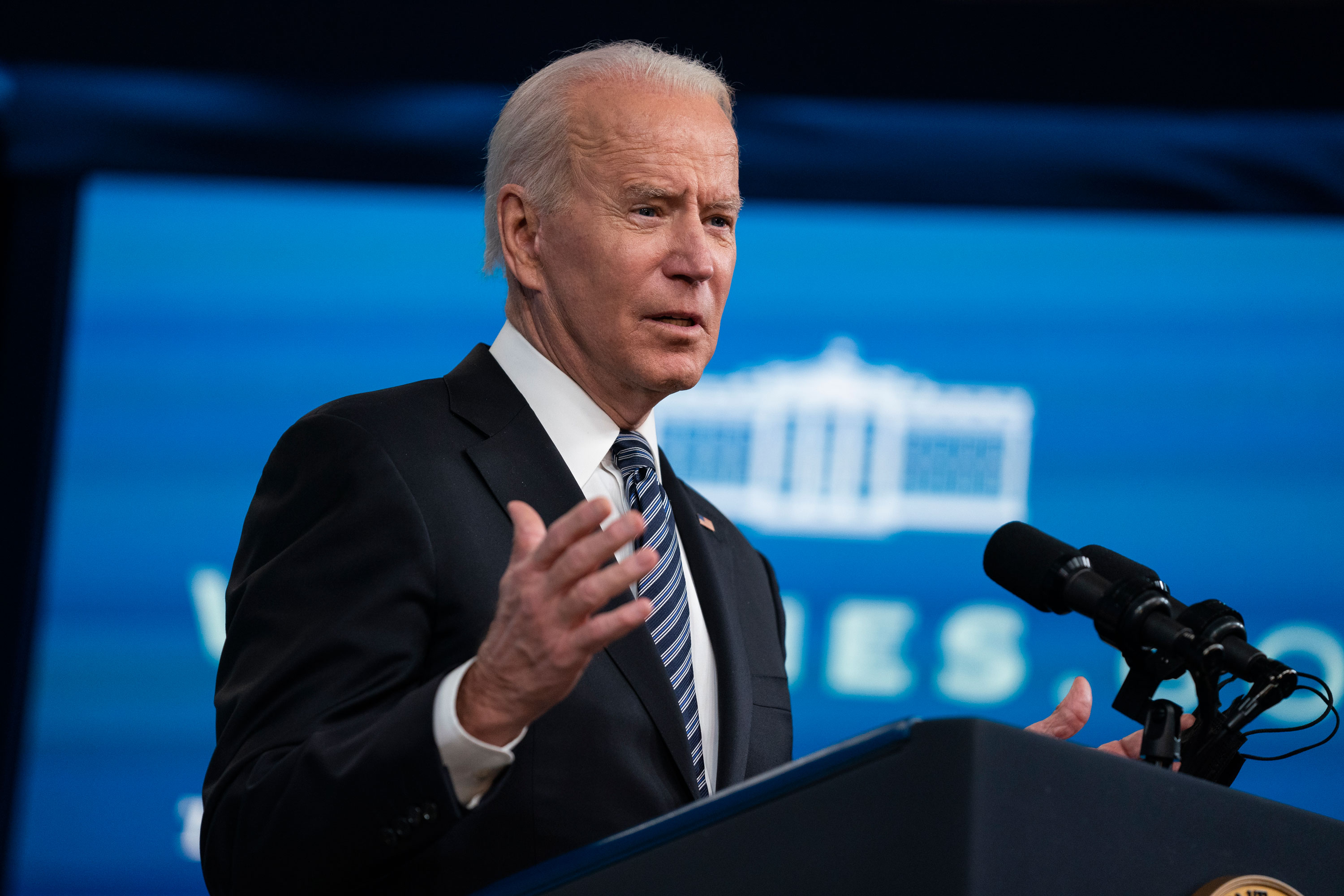 Biden warns gas station owners: 'Do not try to take advantage of consumers' during fuel crunch