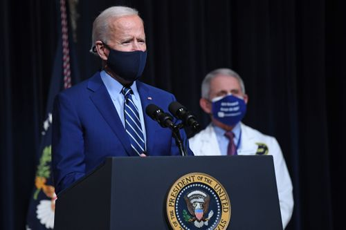 Image for Biden grapples with balancing optimism and tough talk on pandemic's outlook