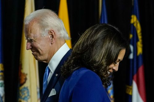 Image for Progressive activists are wary over criminal justice under a Biden-Harris administration
