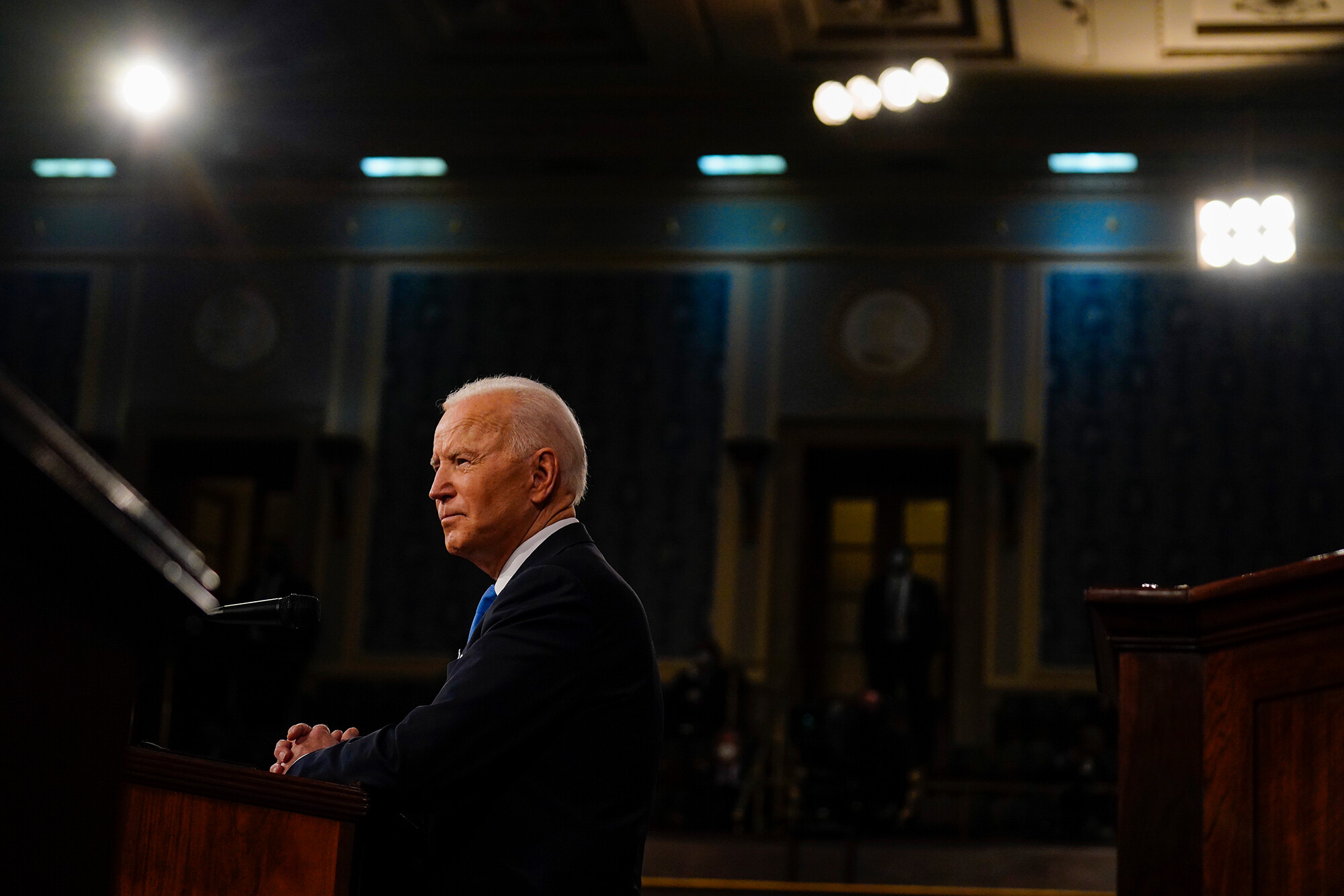 Biden vows 'we're going to get this done' as Democrats attempt to overcome divisions to enact agenda